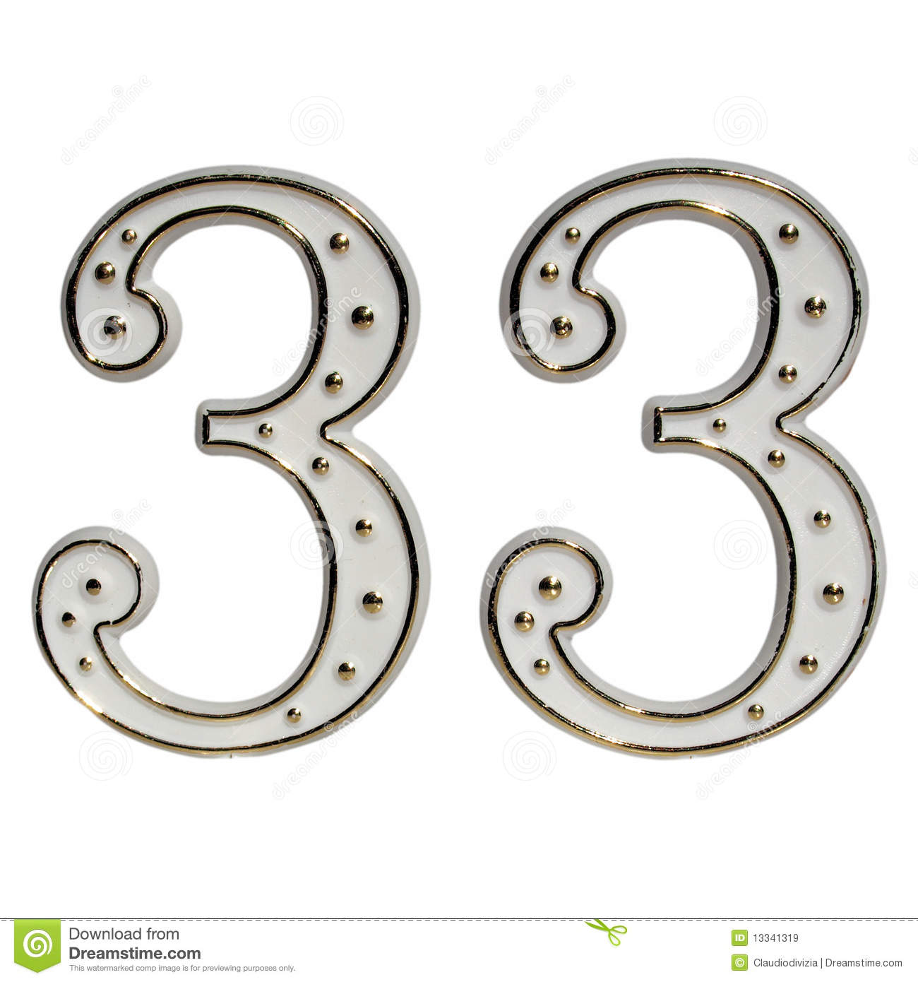 Number 33 free picture of the number thirty three - Thirty Three 33 Royalty Free Stock Images Background Decorative Isolated Number