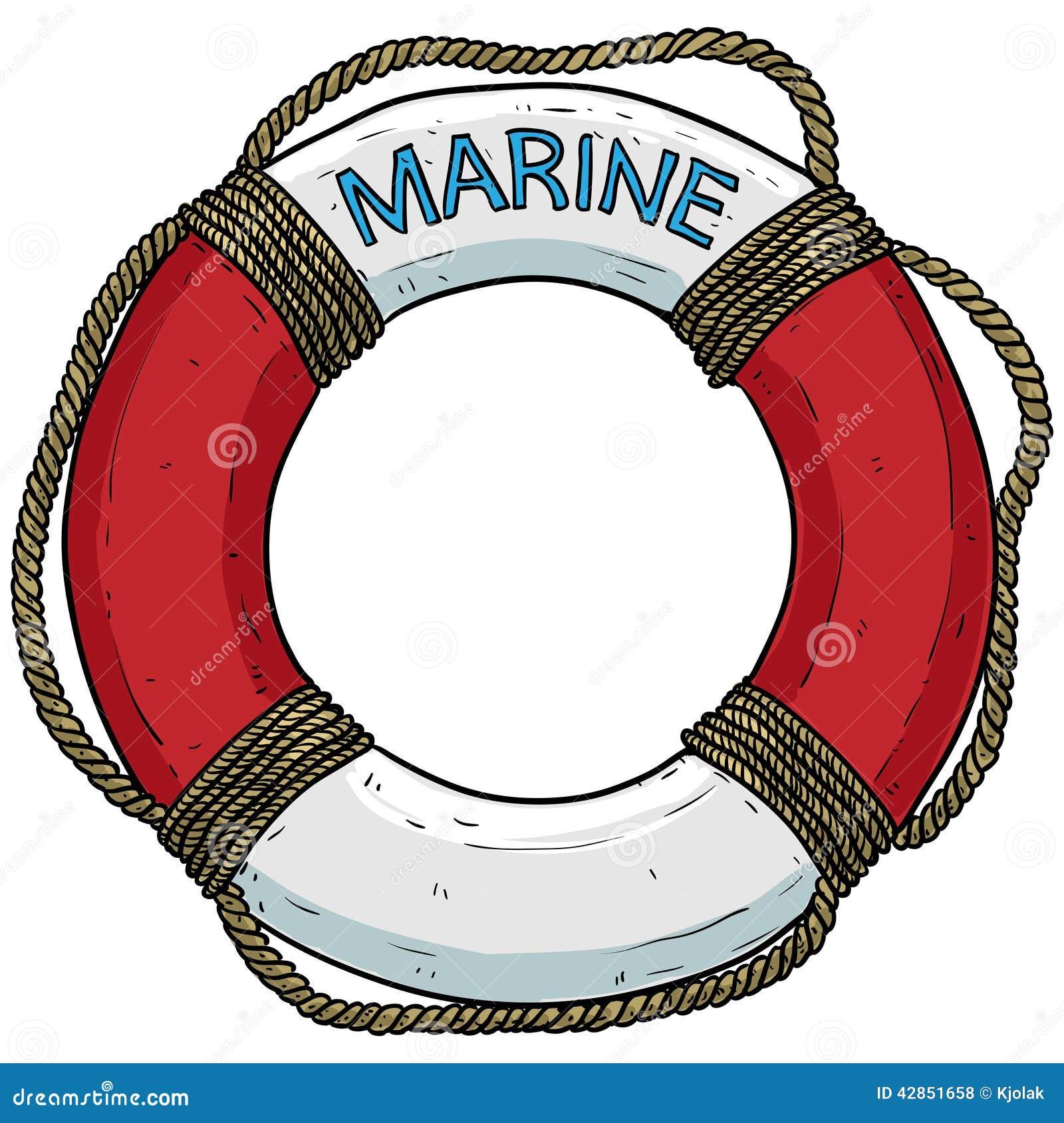 Th me marin bou e de sauvetage illustration de vecteur - Dessiner une ancre marine ...