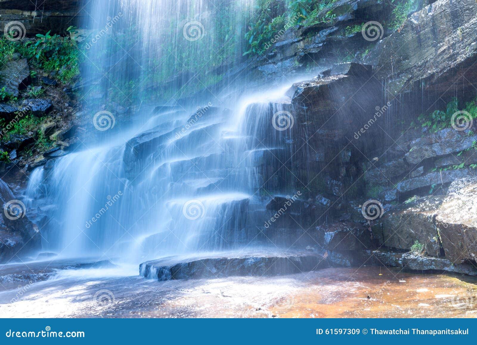 Thmor Tada Waterfall Kampot, Cambodia Oct 2015