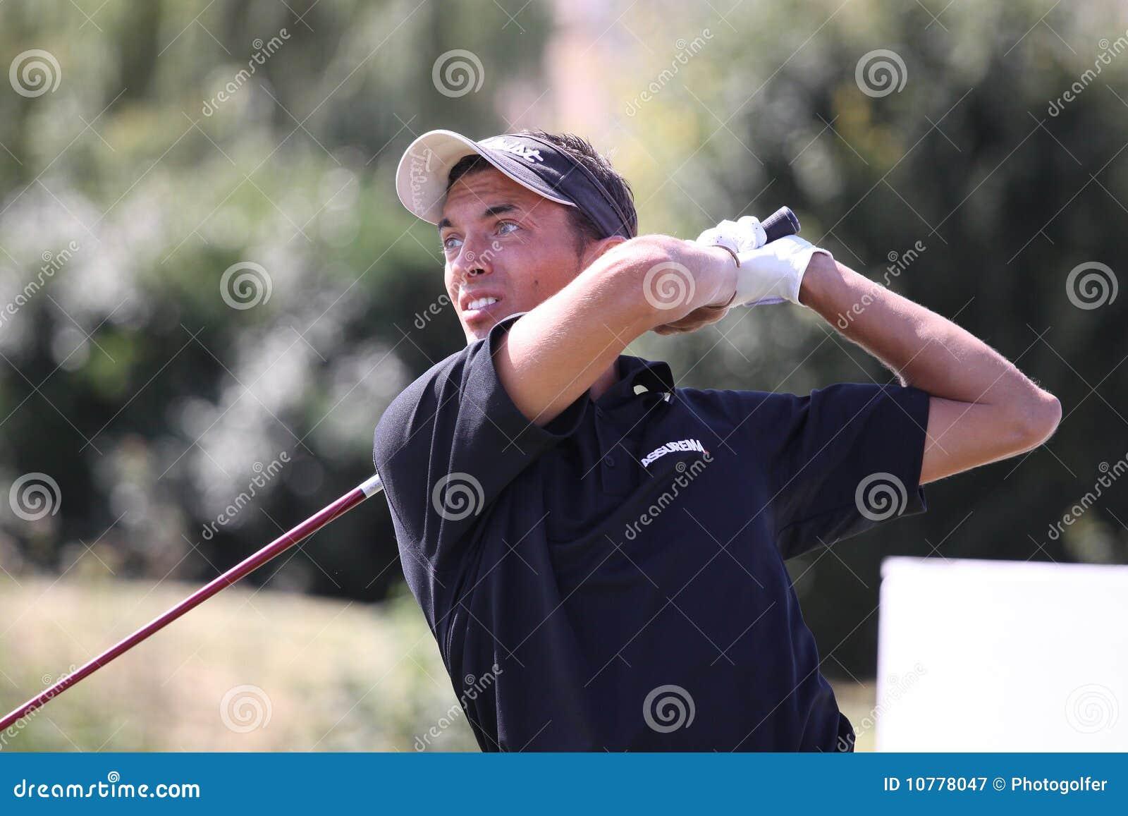 Thomas Tantot bij het golf Prevens Trpohee 2009