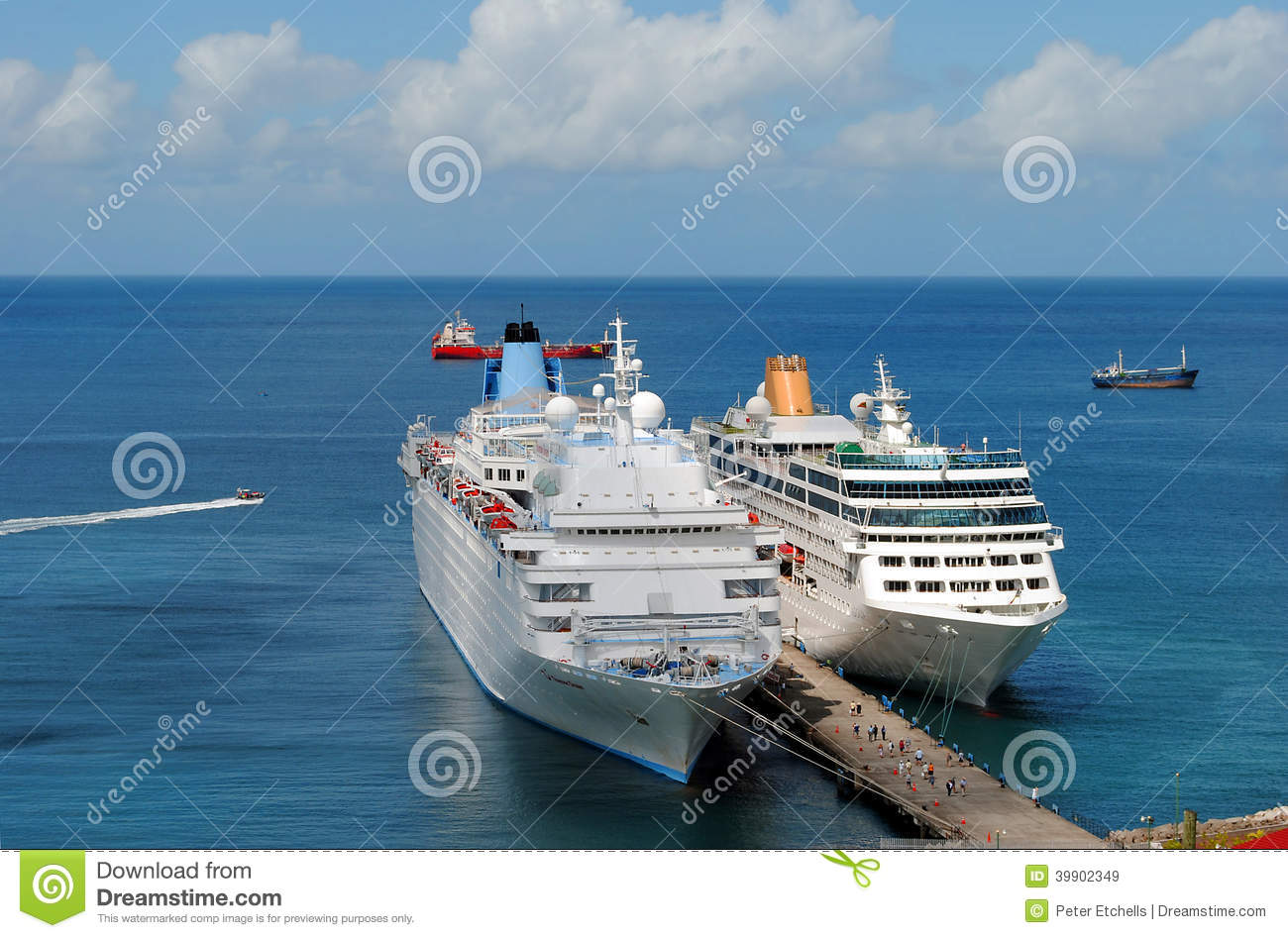 Thomson Dream And Adonia Cruise Ships Editorial Stock Image - Pictures of thomson dream cruise ship