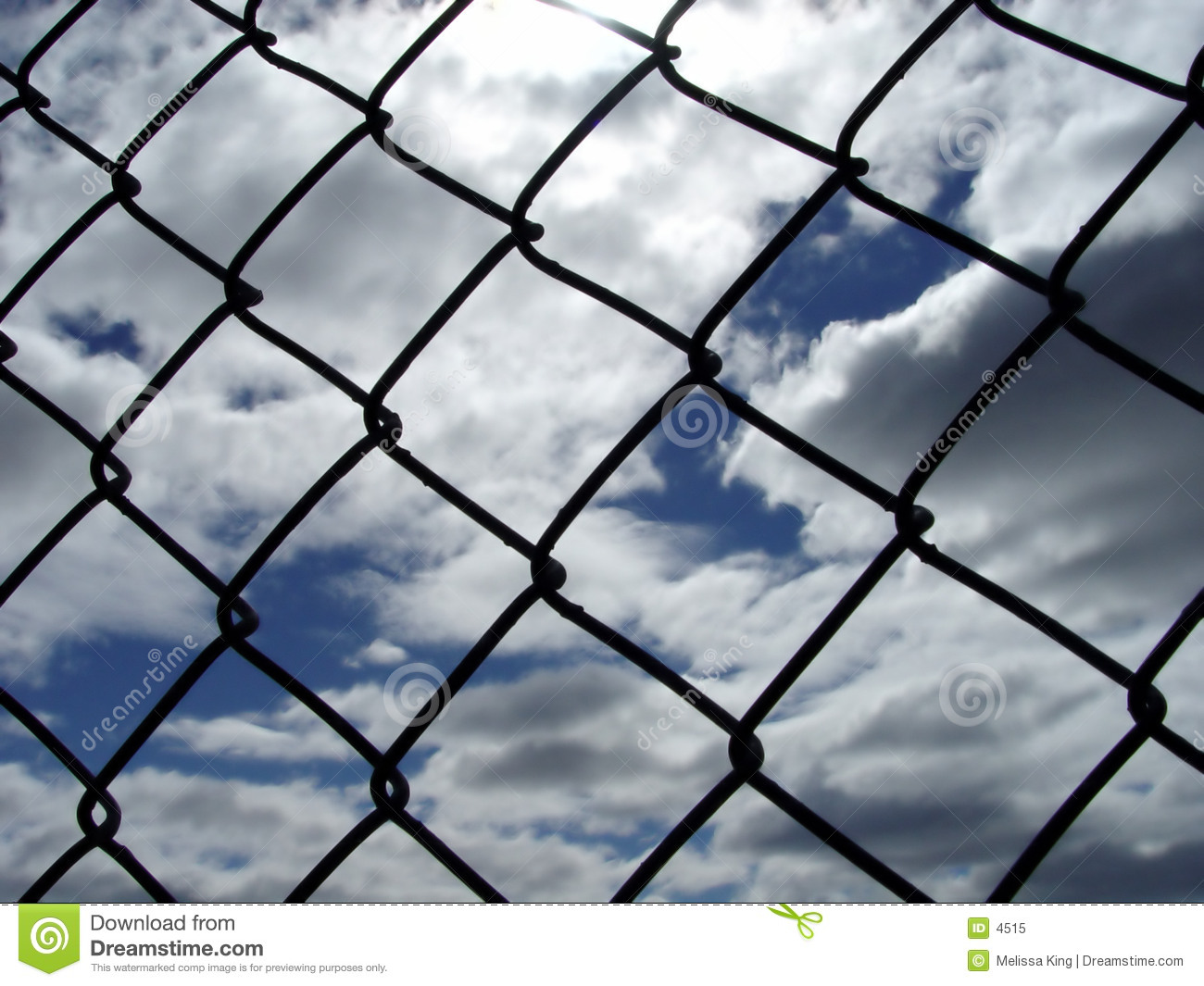 Though a Fence