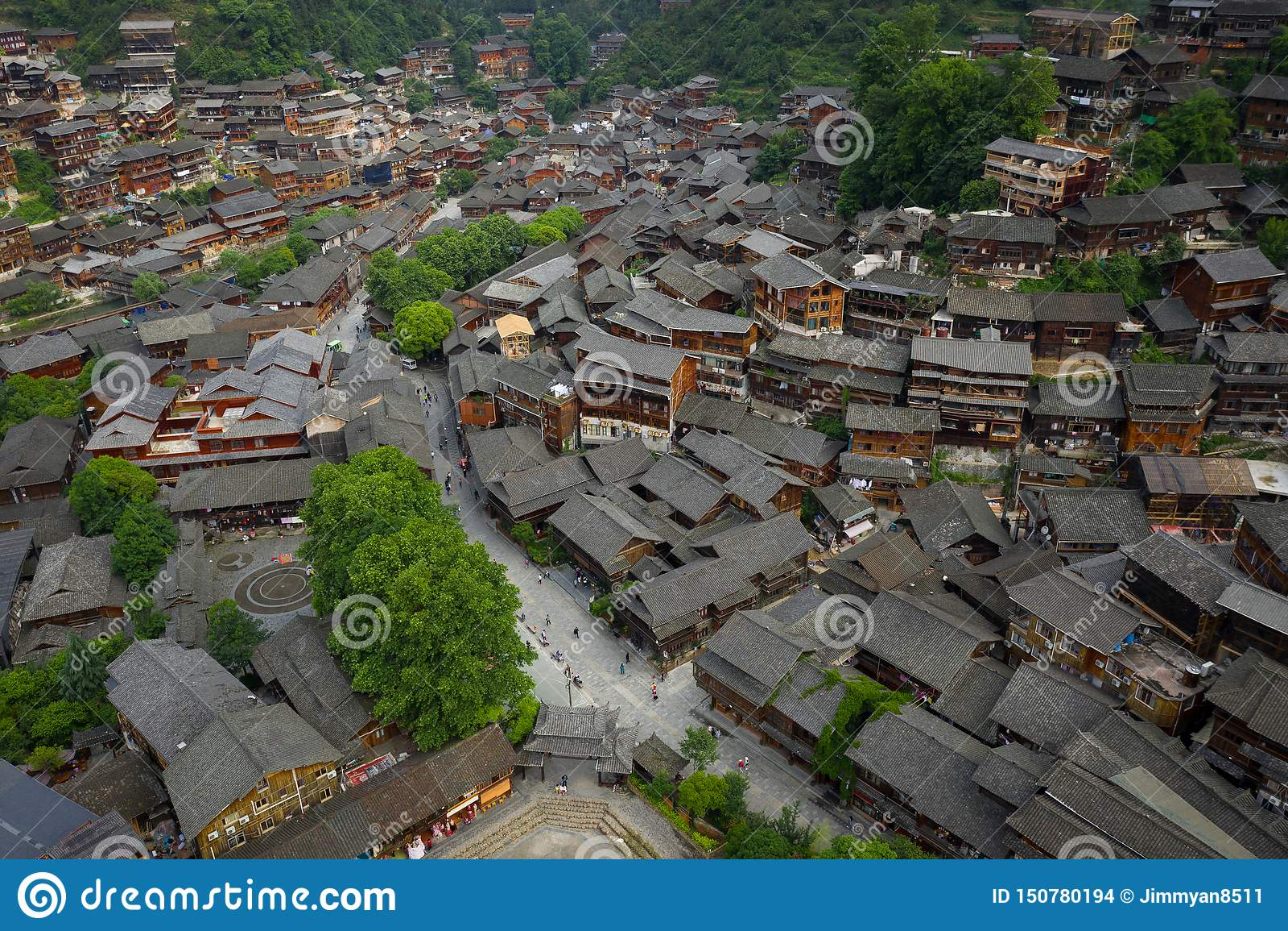 Thousand miao village