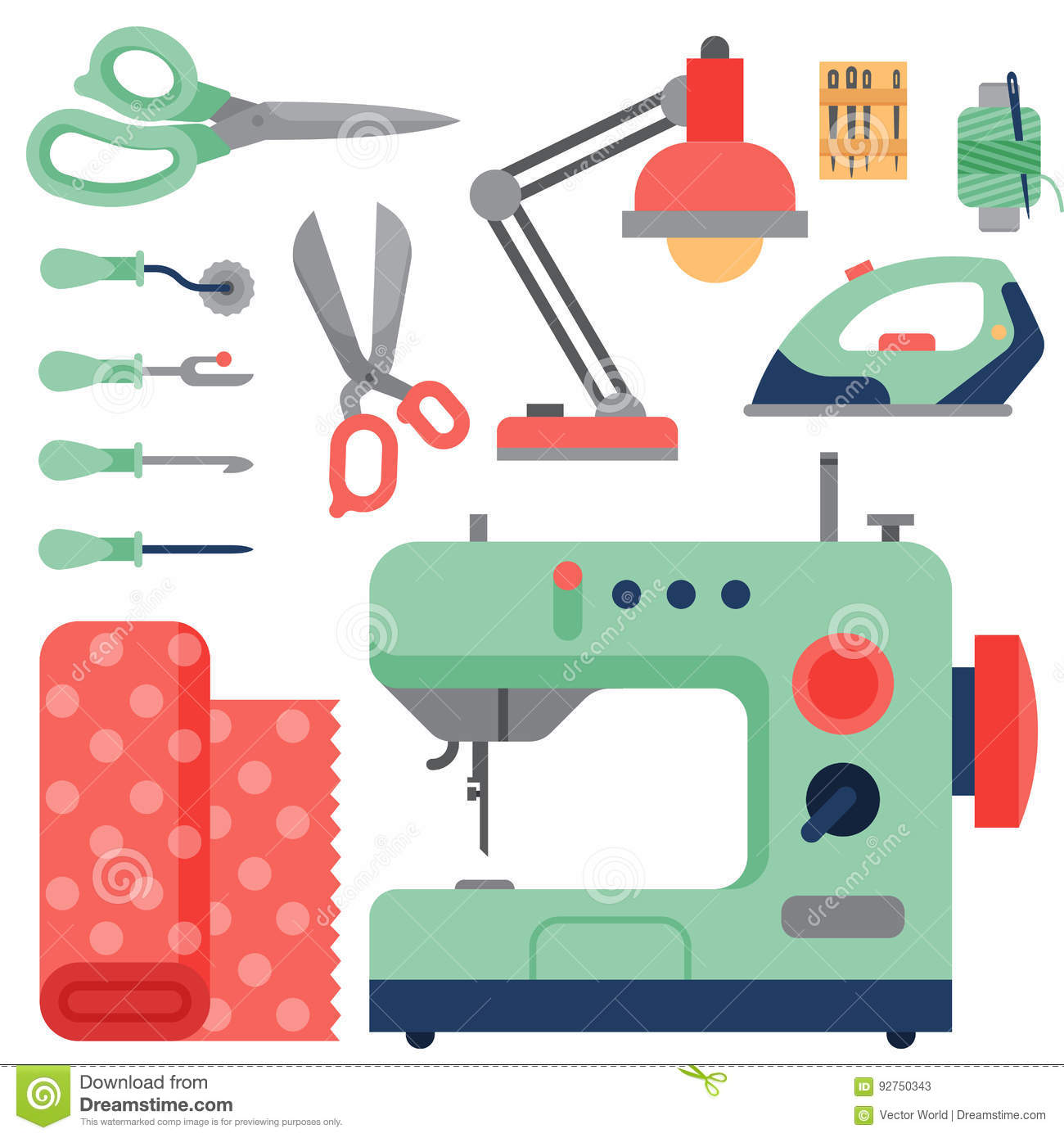 Thread supplies accessories sewing equipment tailoring for Sewing and craft supplies