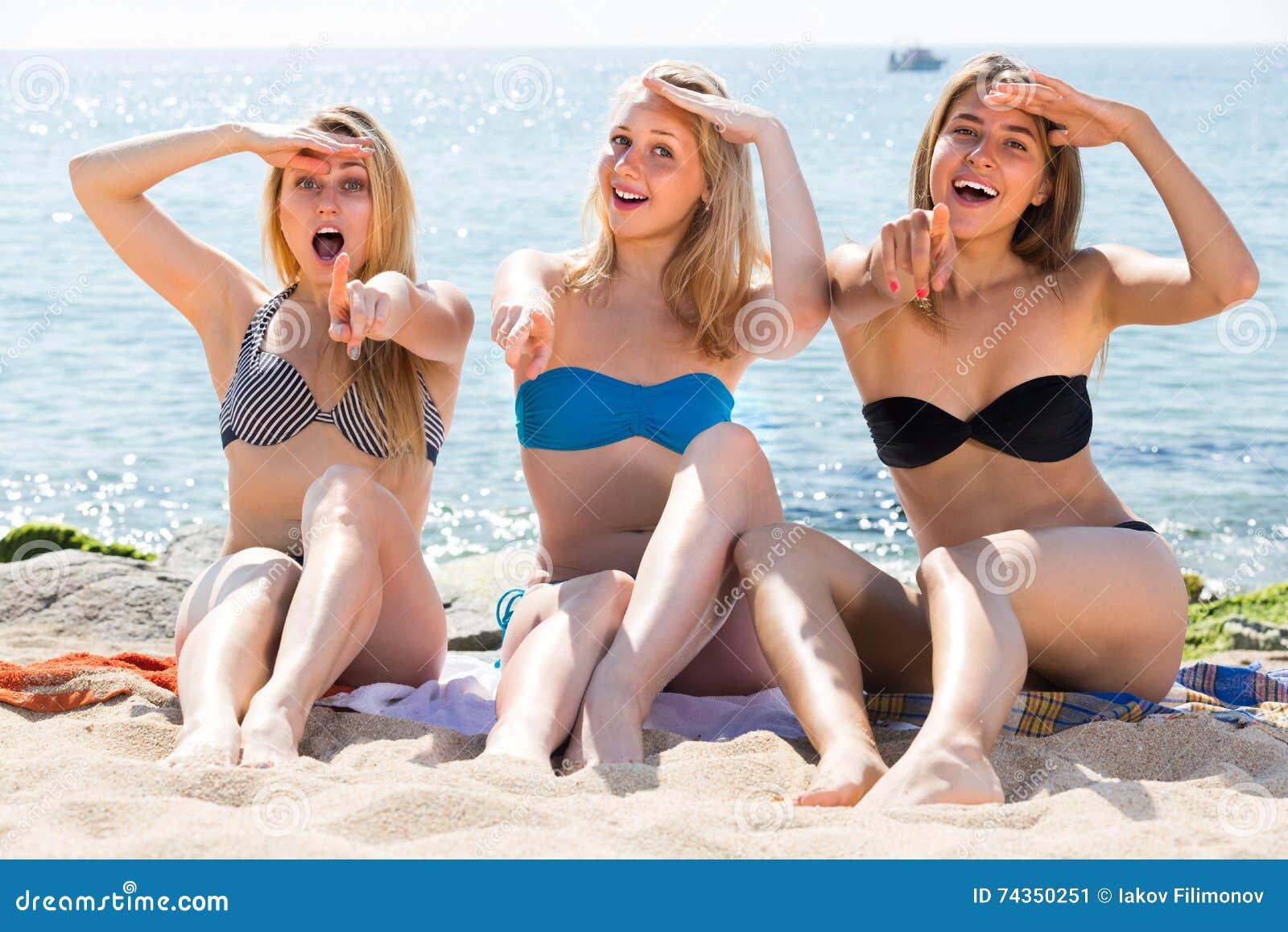 Women In Bikinis Three Romanian 73