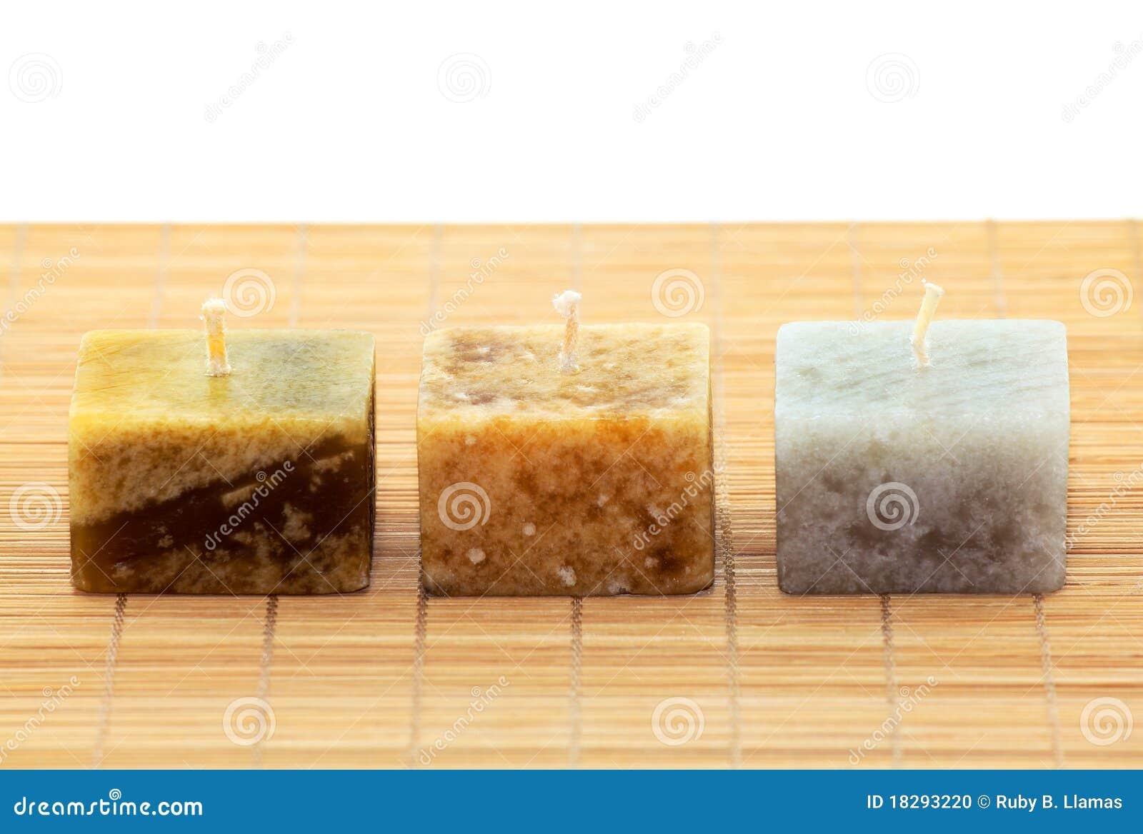 Three Aromatic Candles