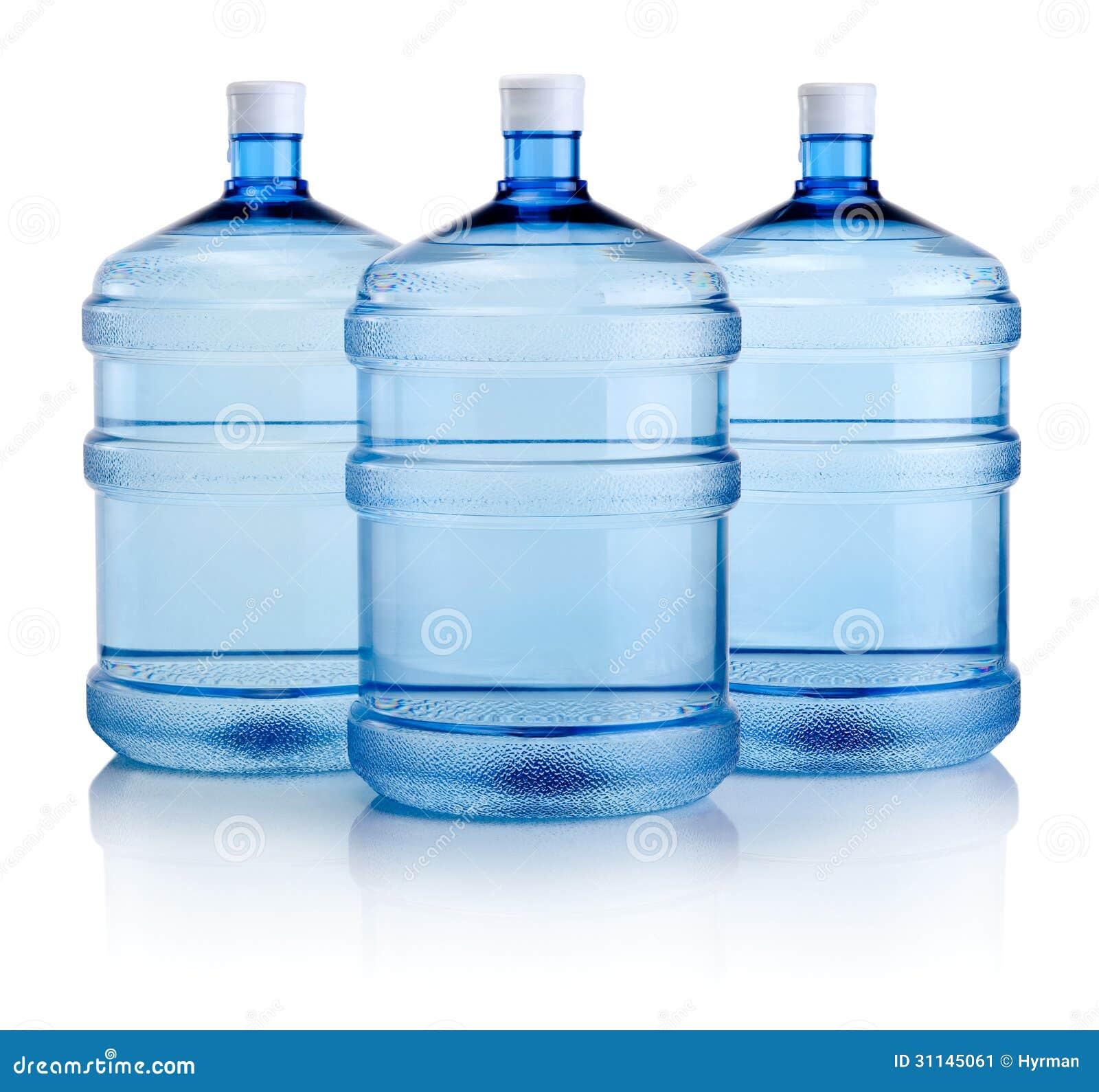 Glass Bottles Drinking Water