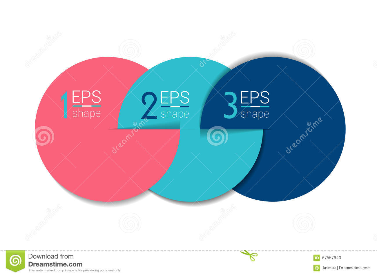 Design elements banner - Three Business Elements Banner Template 3 Steps Design Chart Infographic Step