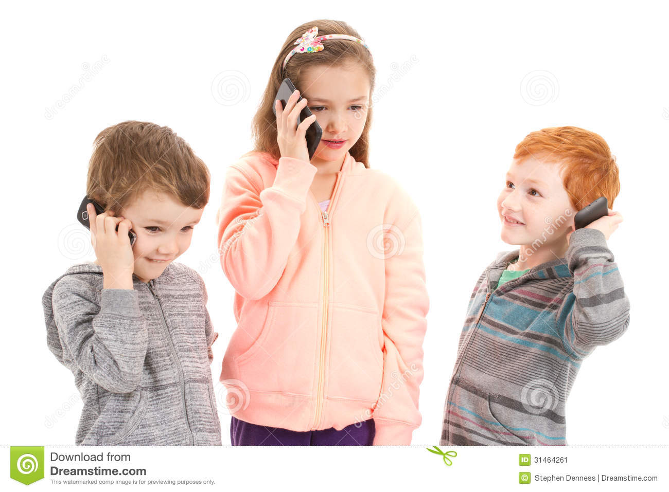 Kids Talking On The Phone | www.pixshark.com - Images ...