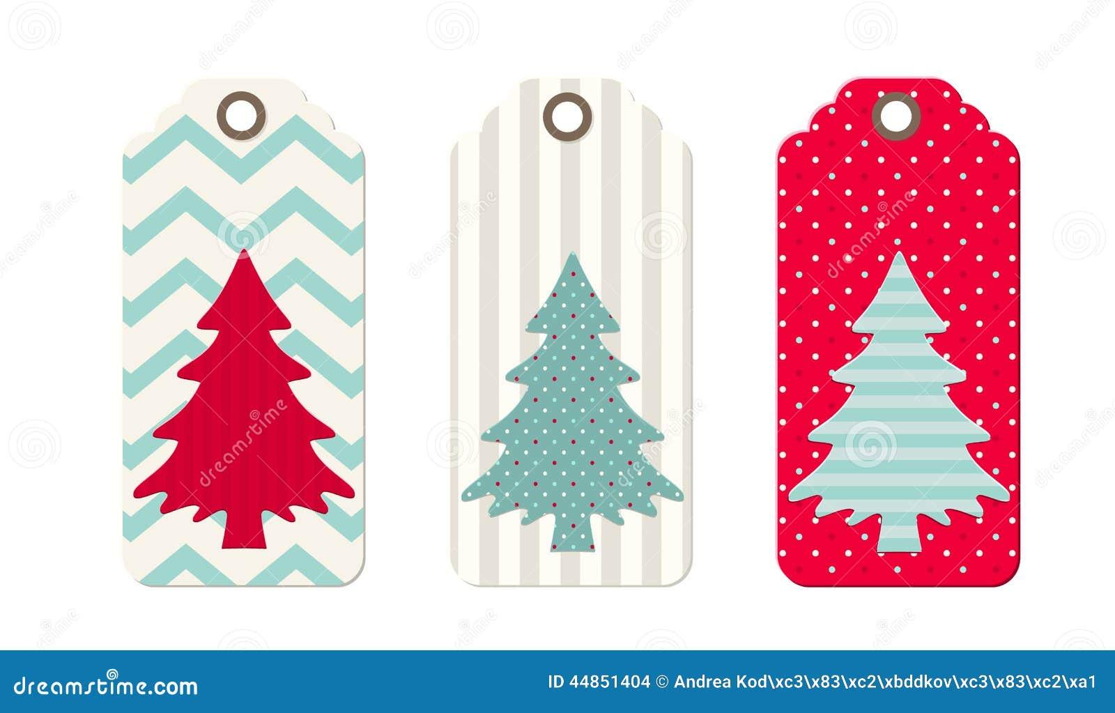 Origami Christmas Tree Gift Tag