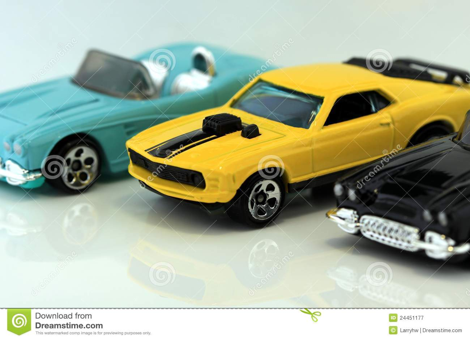 American Classic Sport Cars Three classic american sports