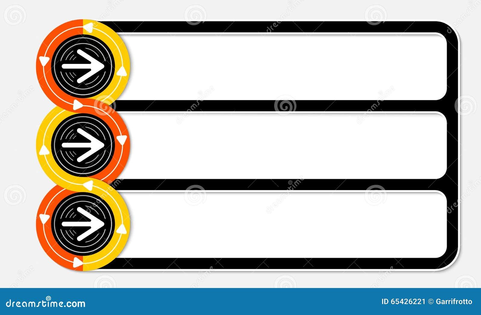 Three connected frames stock illustration. Illustration of frame ...