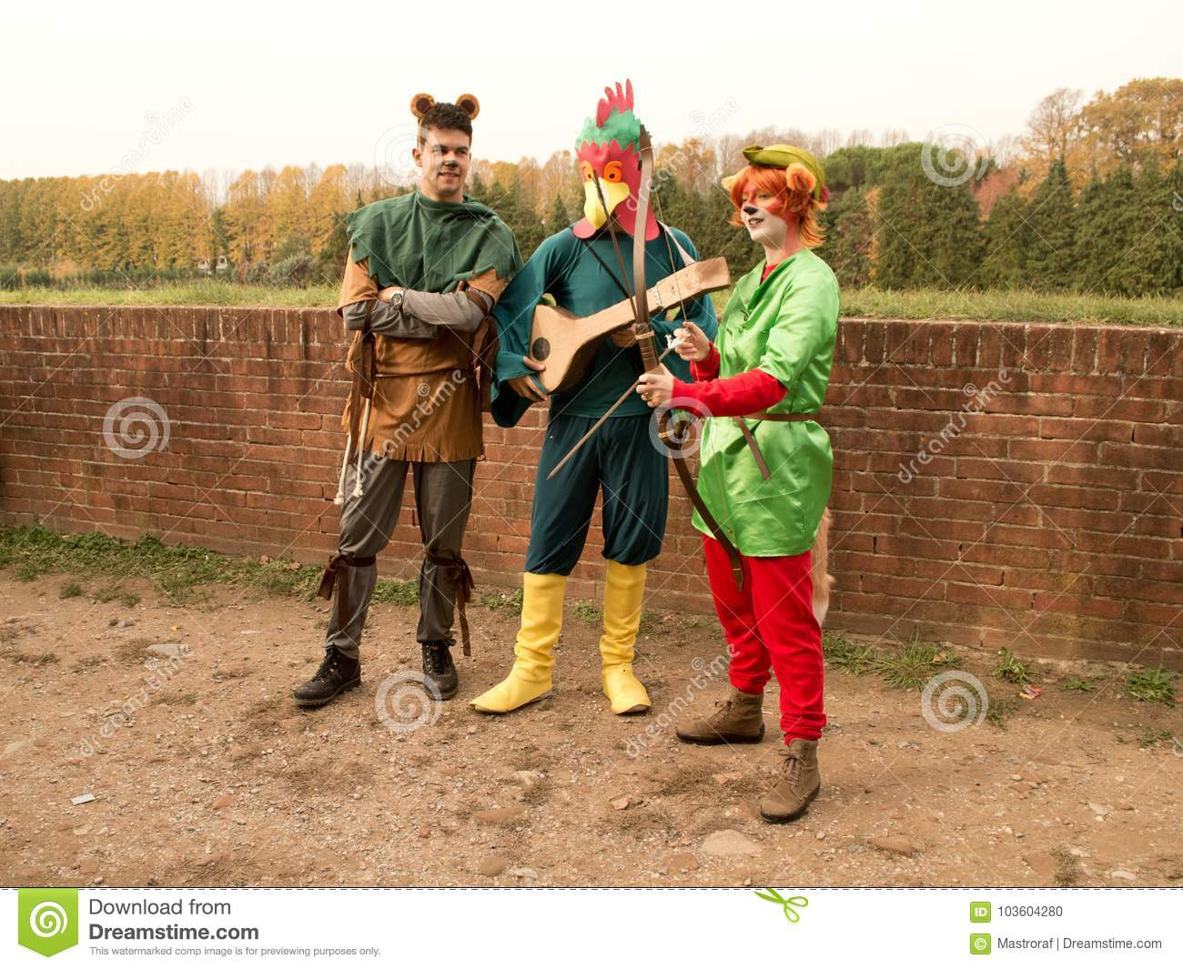 Robin Hood And His Merrie Men At Lucca Comics And Games 2017 ...
