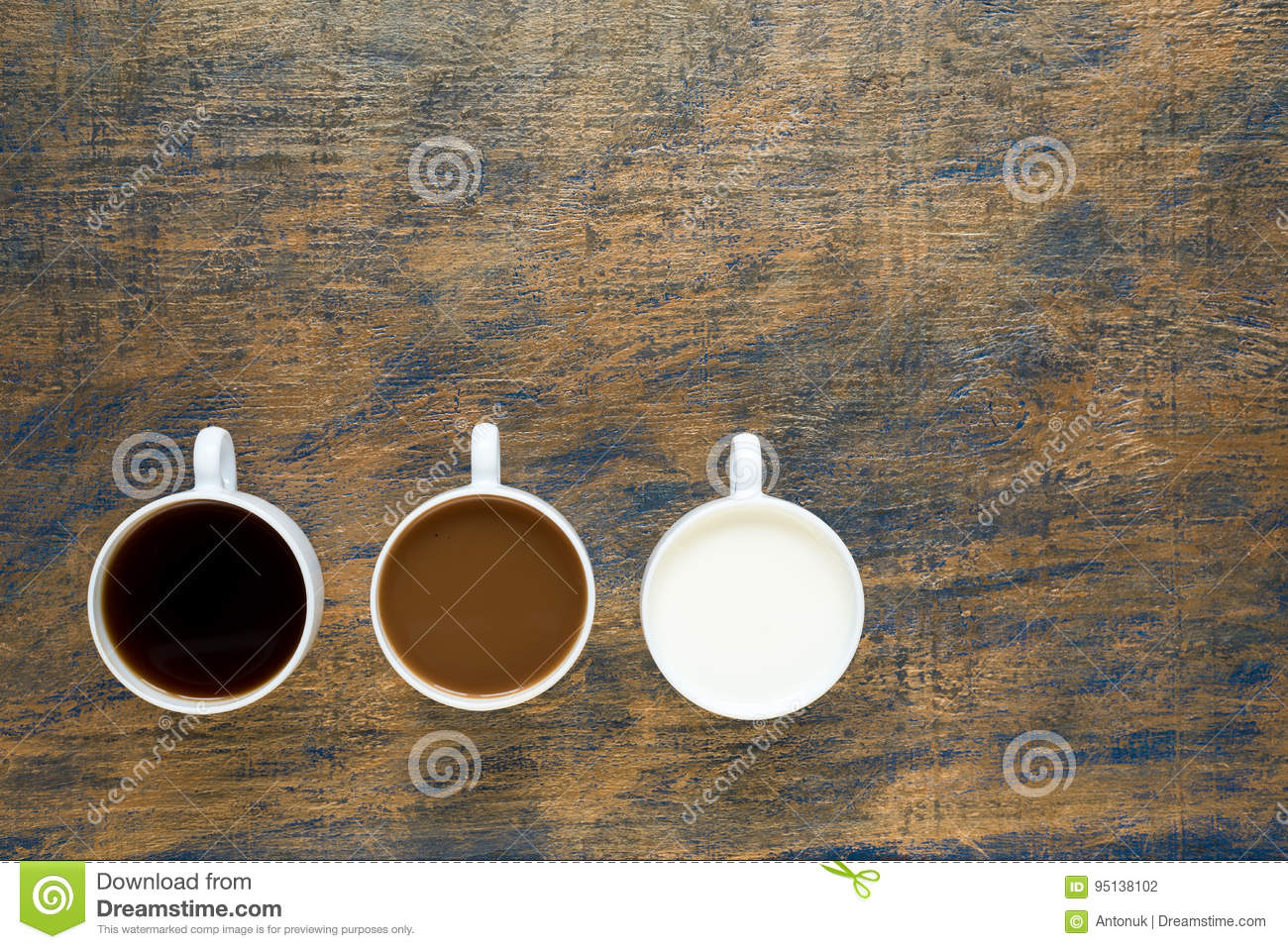 Kitchen the color of coffee with milk