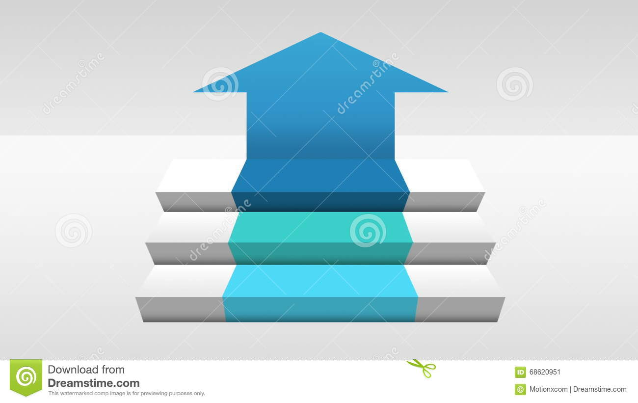 Three 3d Stair Step Arrow Square Intro Title Box Diagram Chart Steps Diagrams Collection For Powerpoint Presentations Download Now Chartpowerpoint Presentation Template2 Stock Video Of Element Background 68620951