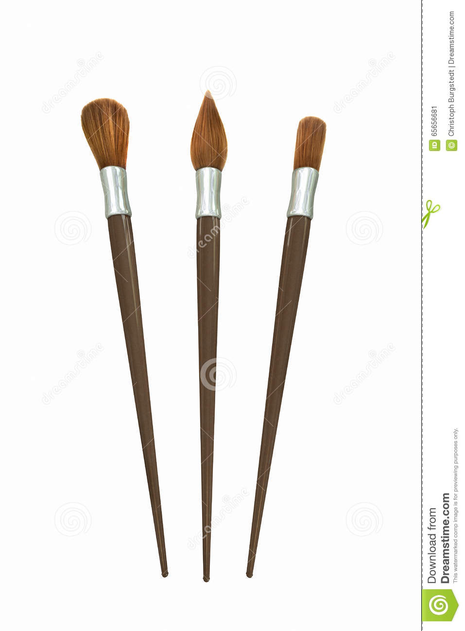 How To Clean The Oil Paint Brushes