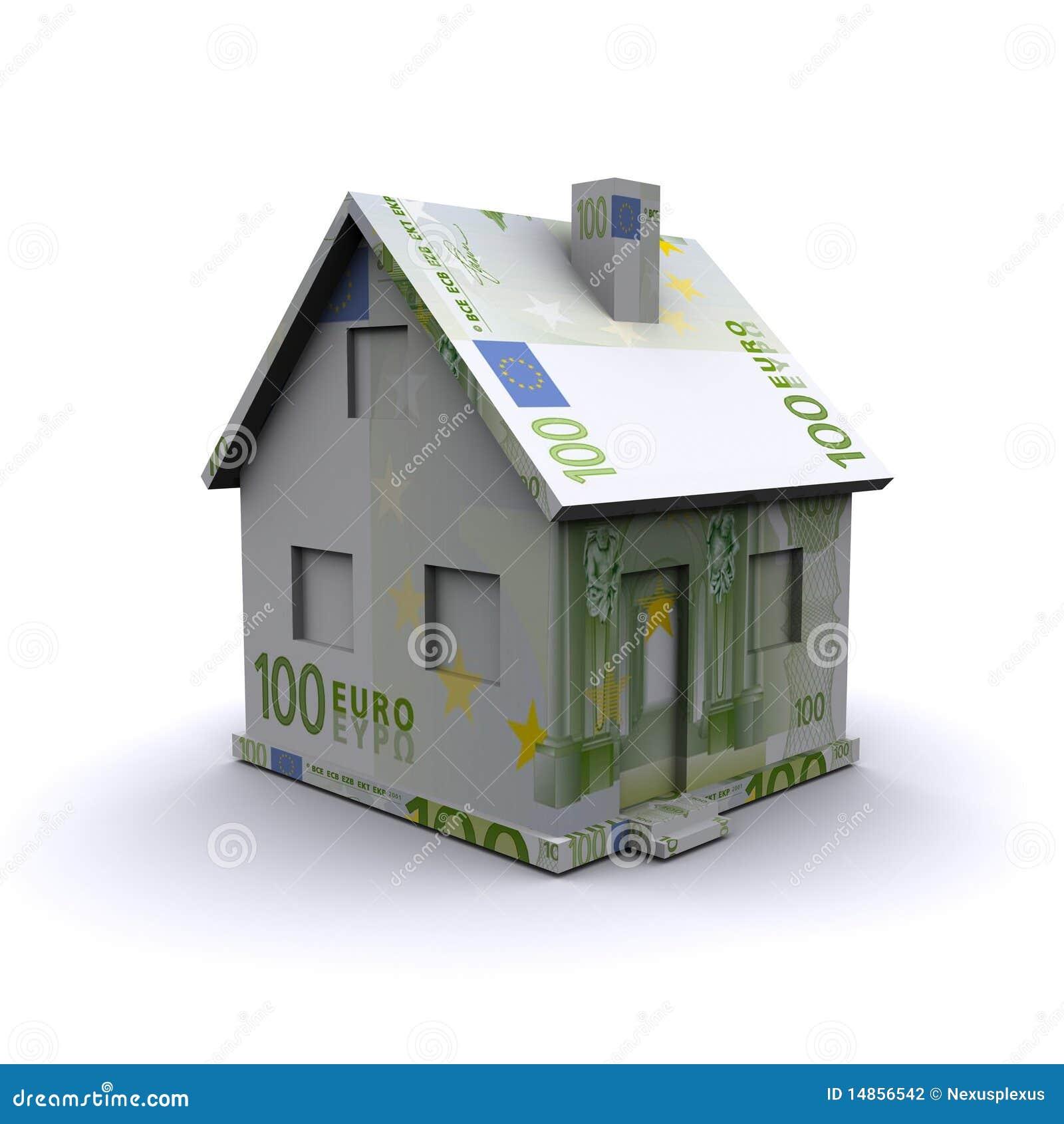 Three-dimensional house