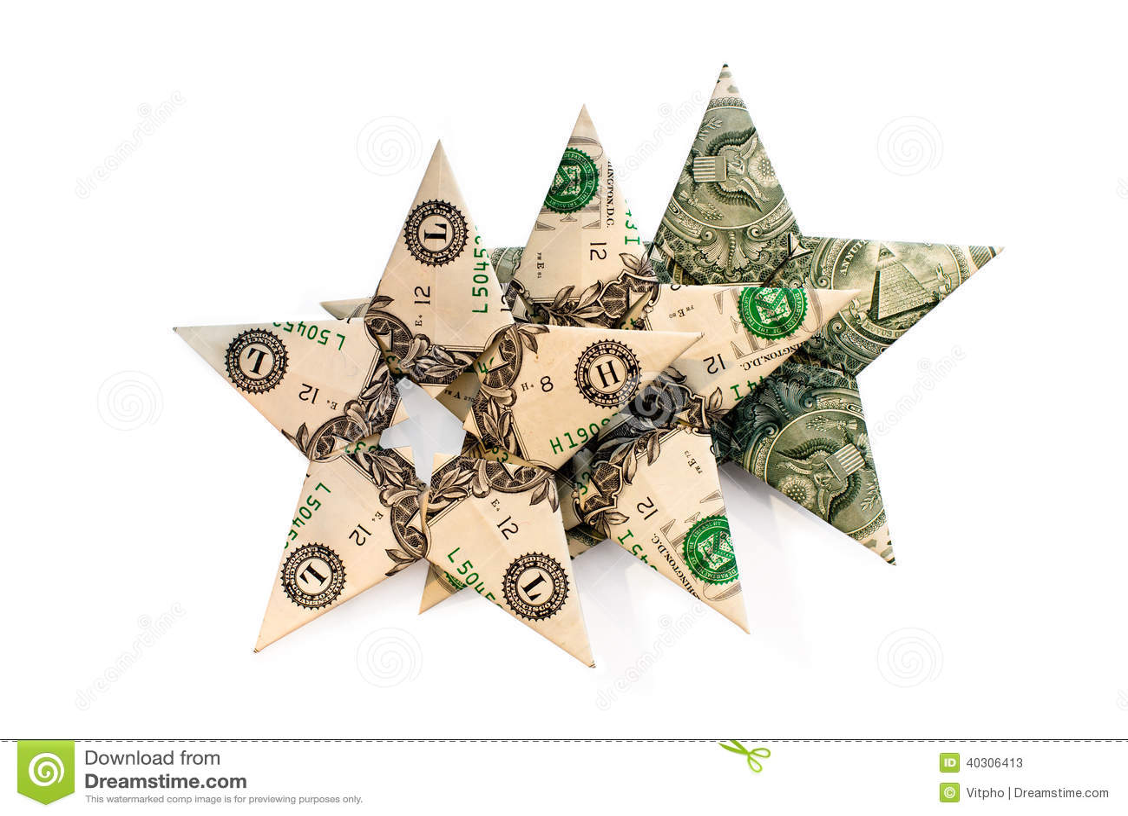 three dollars stars on white background stock image image of