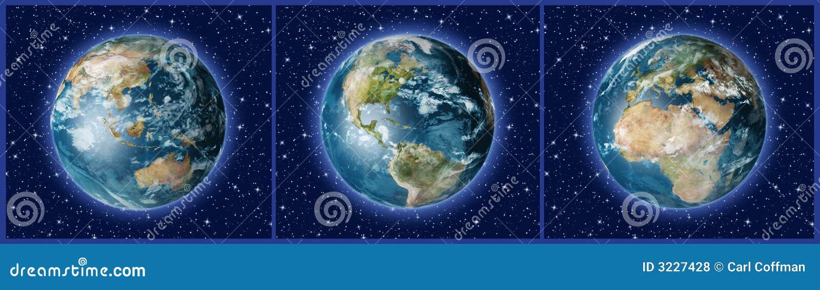 Three Earths A