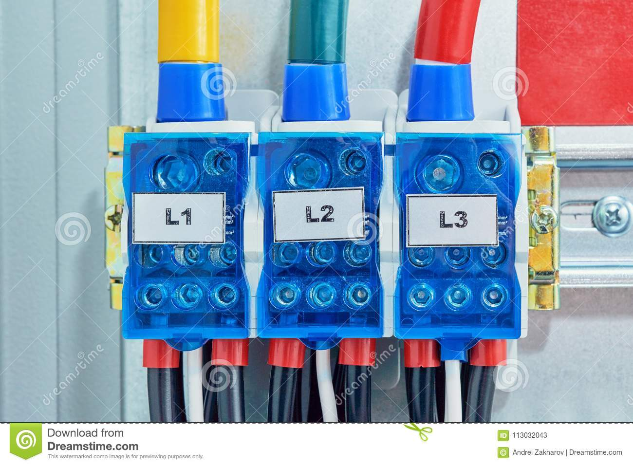Wires To Connect The Switches To Each Other L1 To L1 And L2 To L2