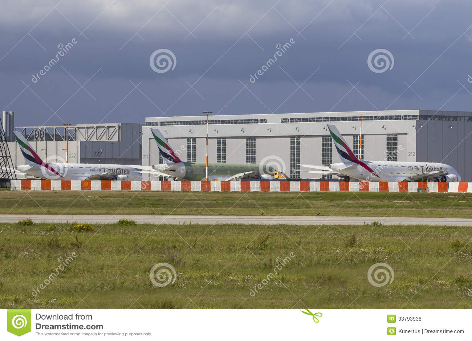 three emirates airbus a380 editorial stock photo image. Black Bedroom Furniture Sets. Home Design Ideas