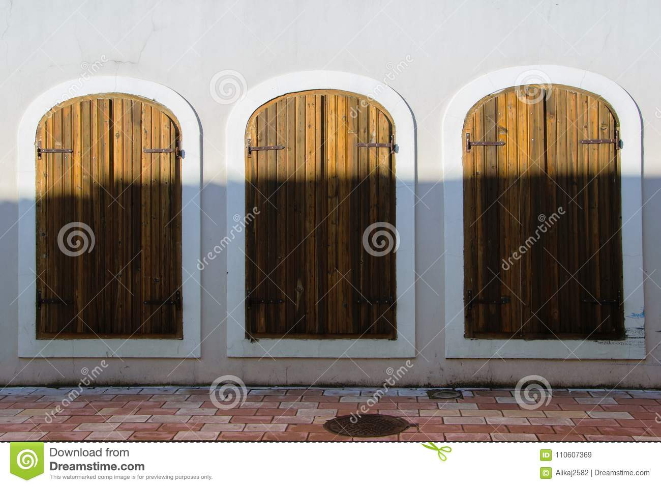 Download Three Equal Antique Windows-doors, Concept - Make Your Choice With  Different Outputs - Three Equal Antique Windows-doors, Concept - Make Your Choice With