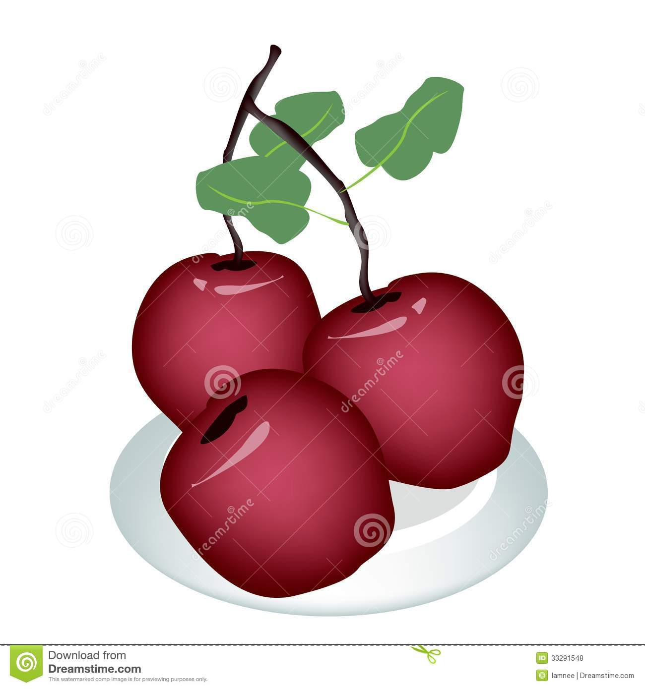 delicious green apple illustration - photo #11