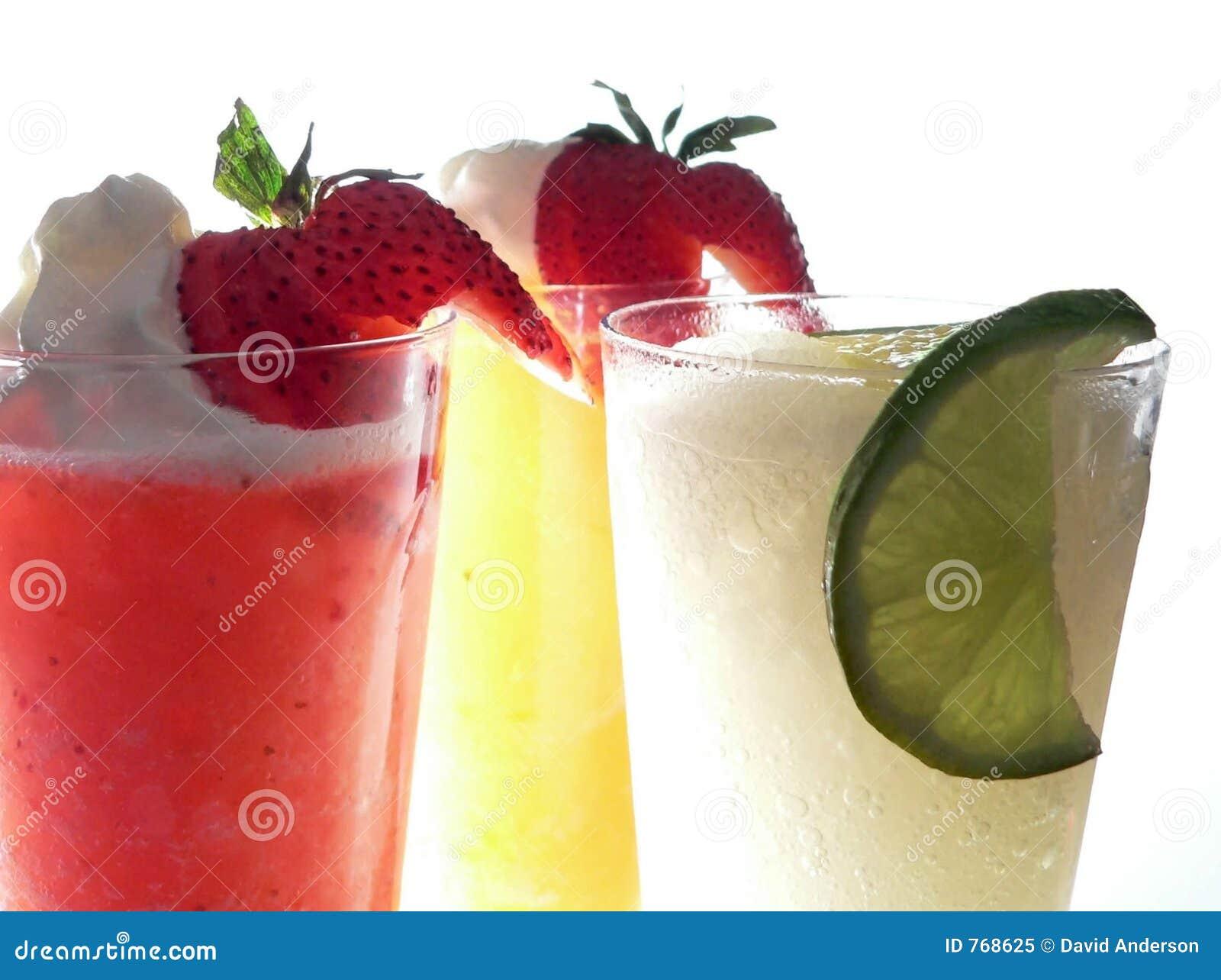 Three Frozen Margaritas