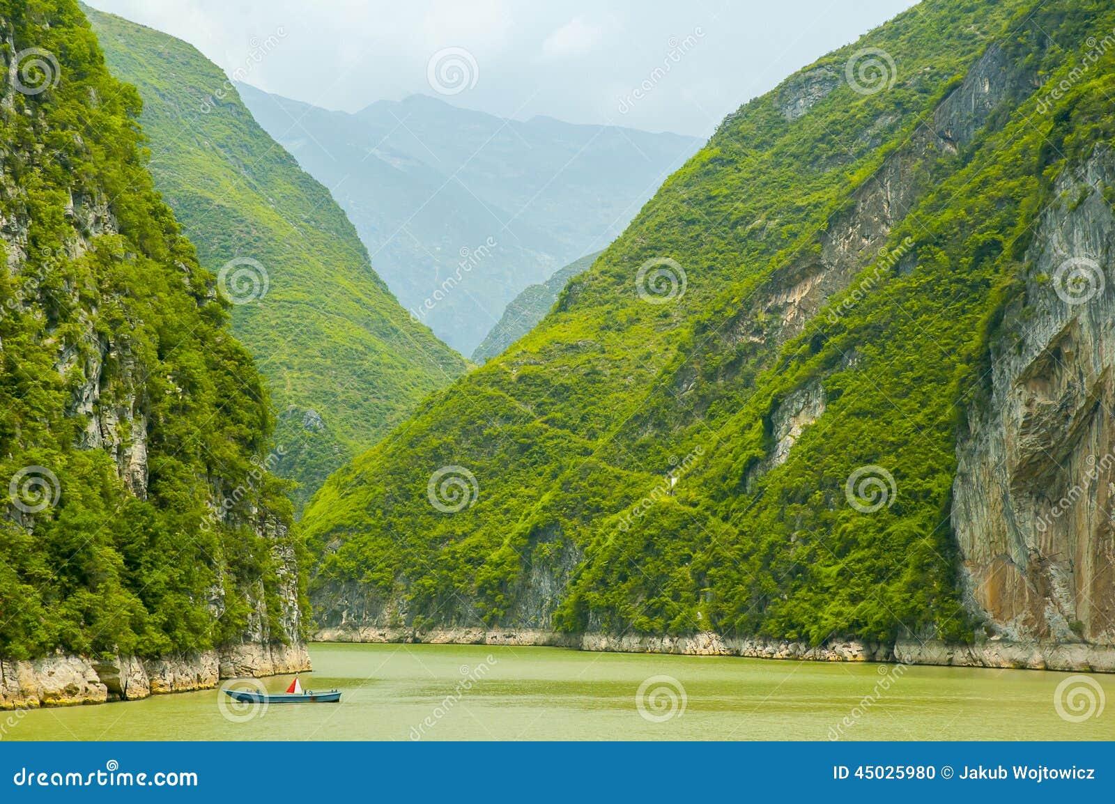 Three Gorges Yangtze River