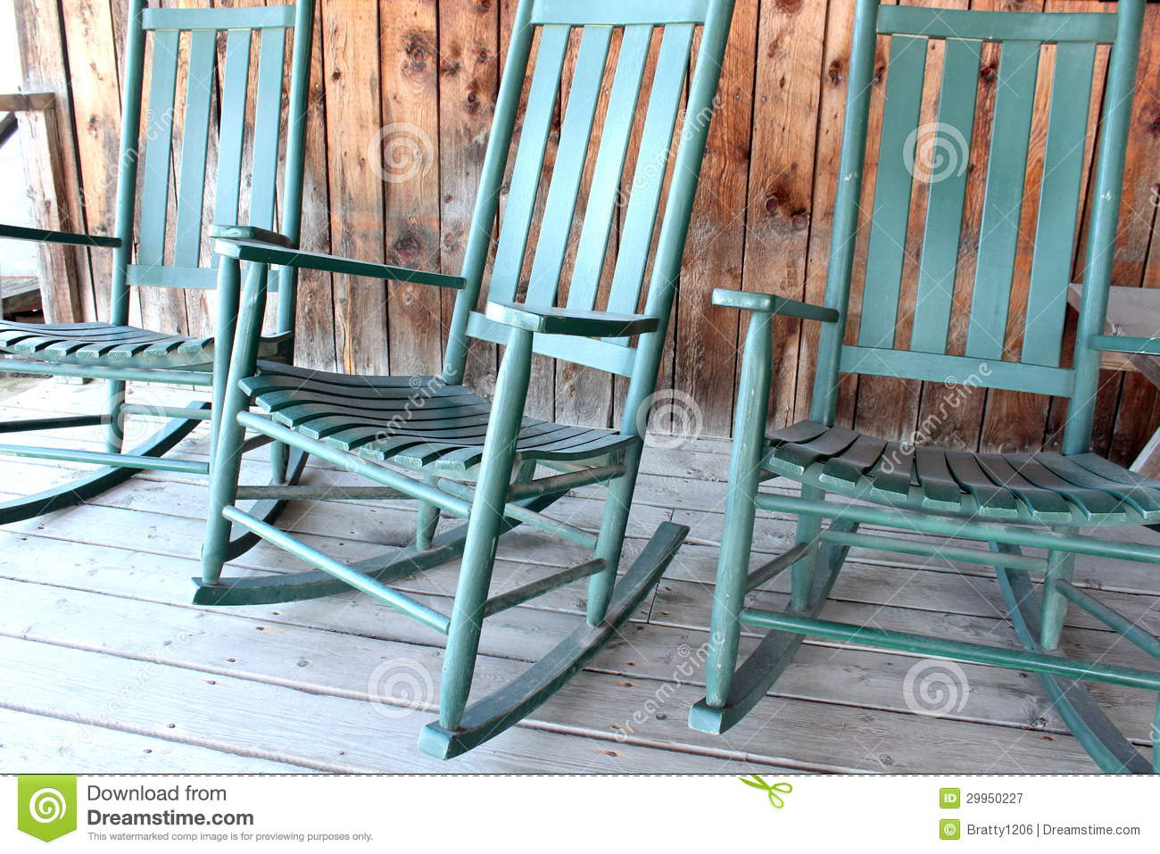 Comfortable Rocking Chairs Stock Image Image Of Rocking 29950227