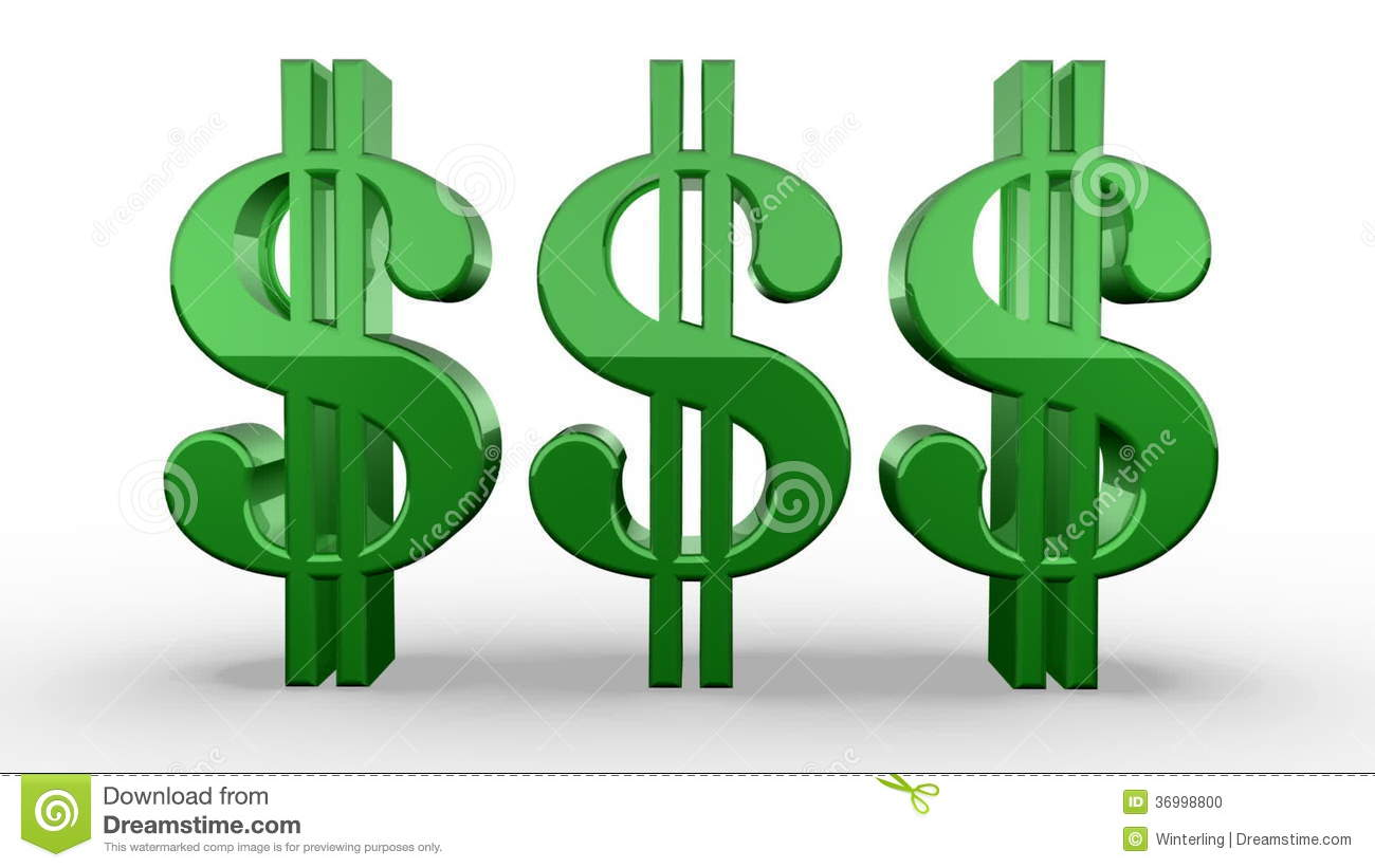 how to make a dollar sign