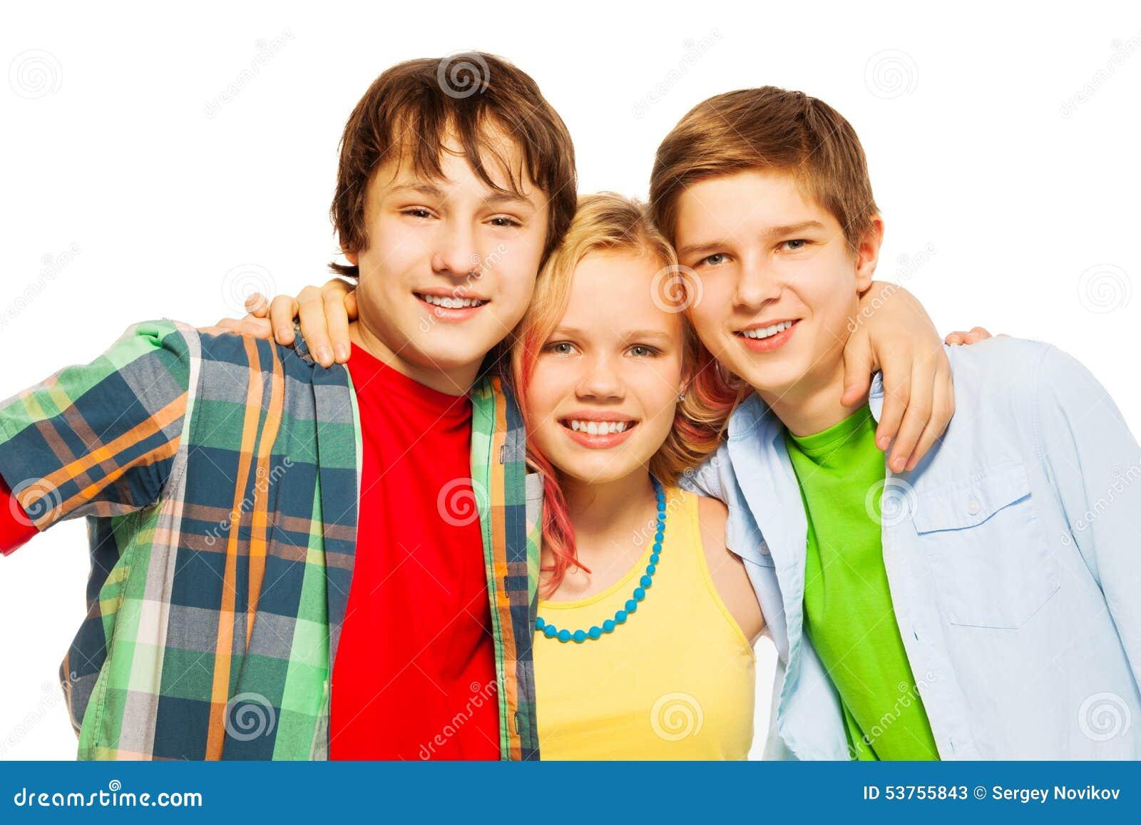 Free Three Teens With 57