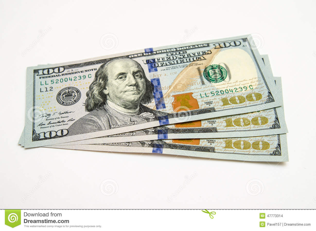 three hundred dollars  Three Hundred Dollars Of The USA Stock Photo - Image of currency ...