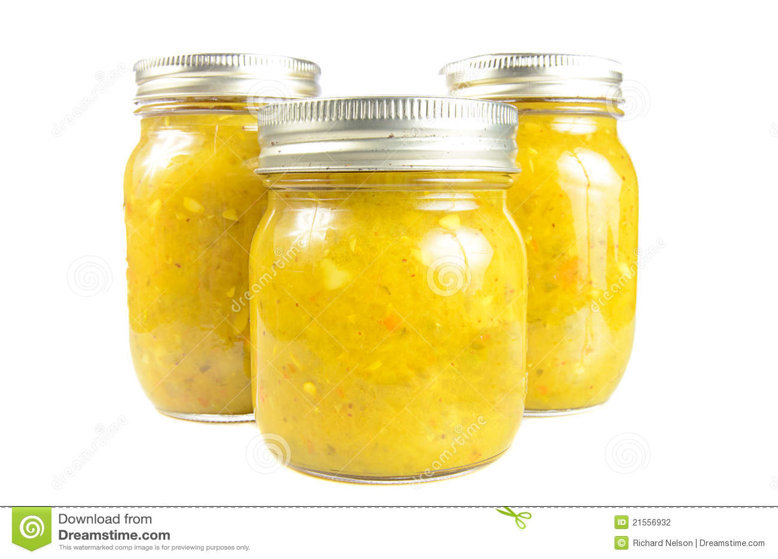 Three Jars of Relish