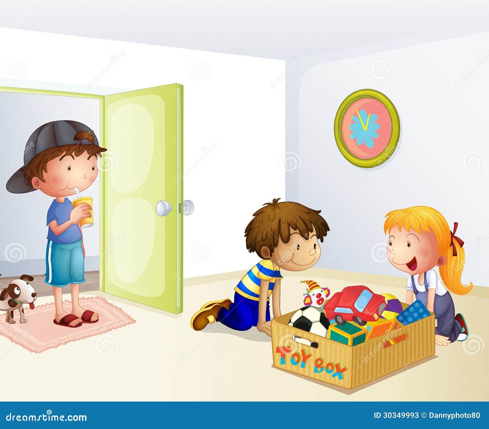 Three Kids Inside The ...
