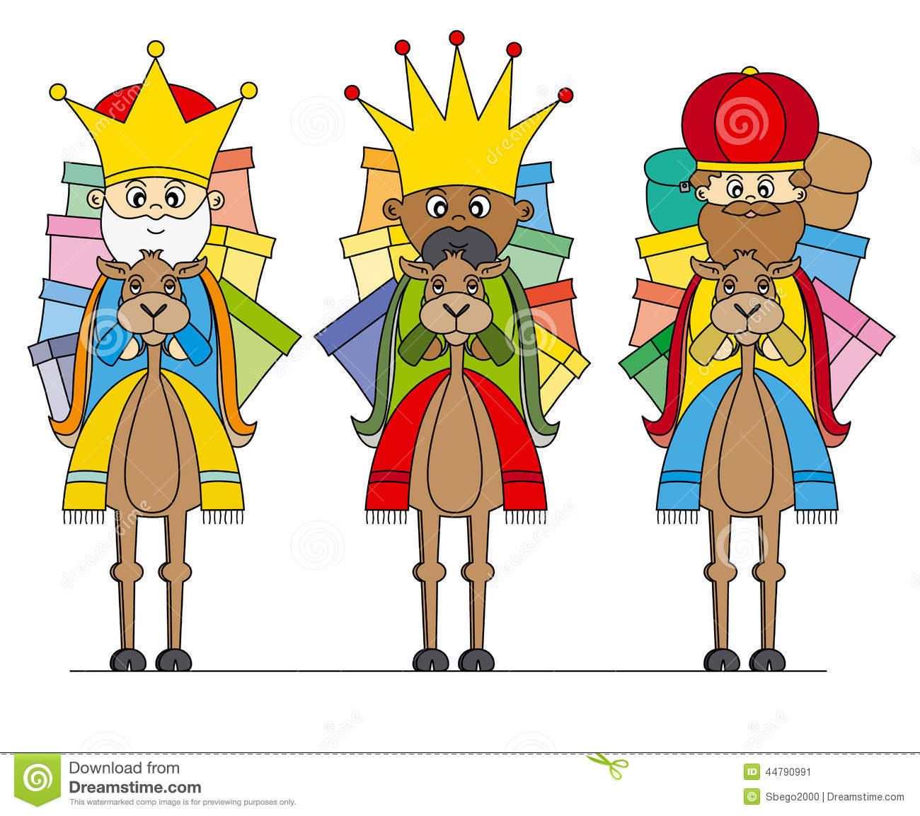 three kings on camels stock vector image 44790991 three kings day clipart three kings clip art