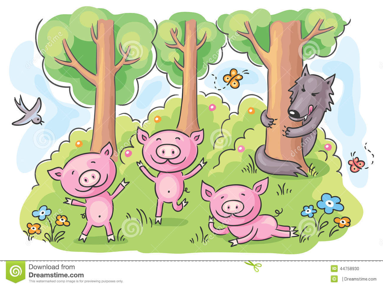 fairy tale appropriation the three little Fairy tale appropriation- the three little pigs / essays / id the three little pigs comes to life in this all new, fully-animated and interactive storybook adventure 7.
