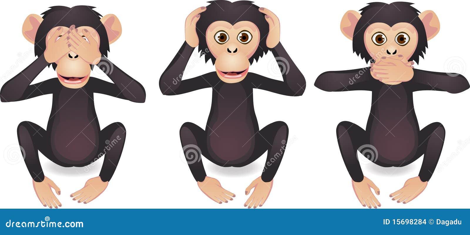 Three Monkey Stock Images - Image: 15698284