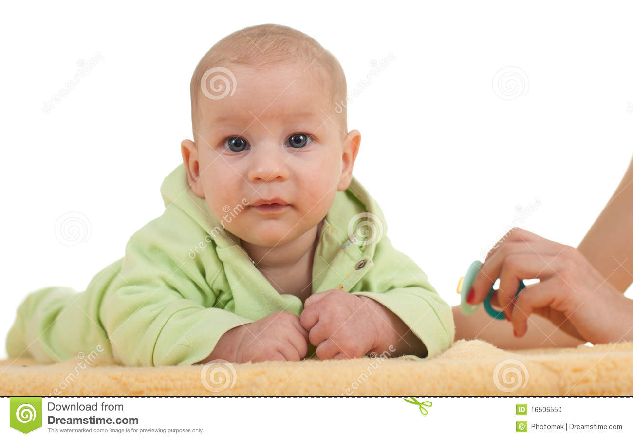 Three Months Old Baby Boy Stock Photo - Image: 16506550