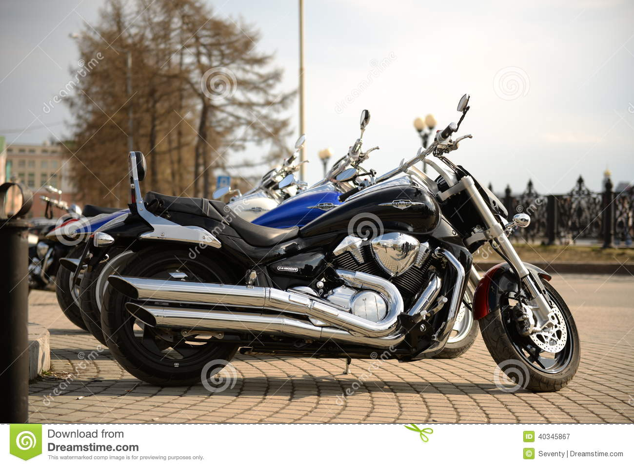Three motorcycles editorial photography  Image of shadow - 40345867
