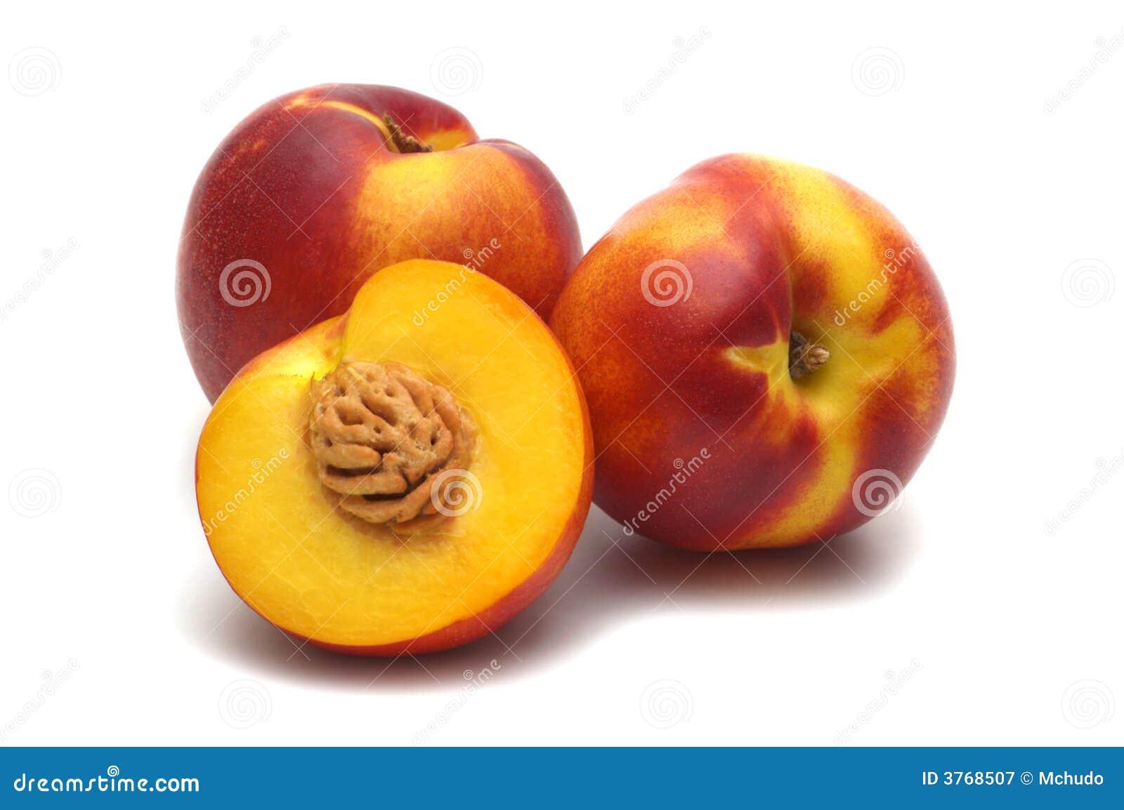 Three nectarine