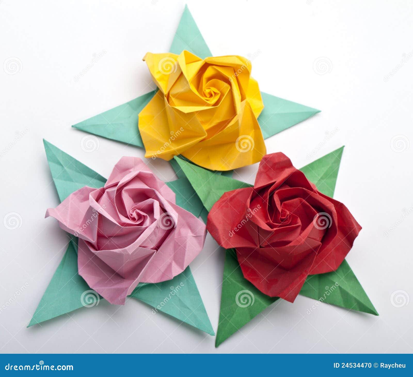 Elegant origami Rose Leaf - #elegant #Leaf #origami #rose ...   1202x1300