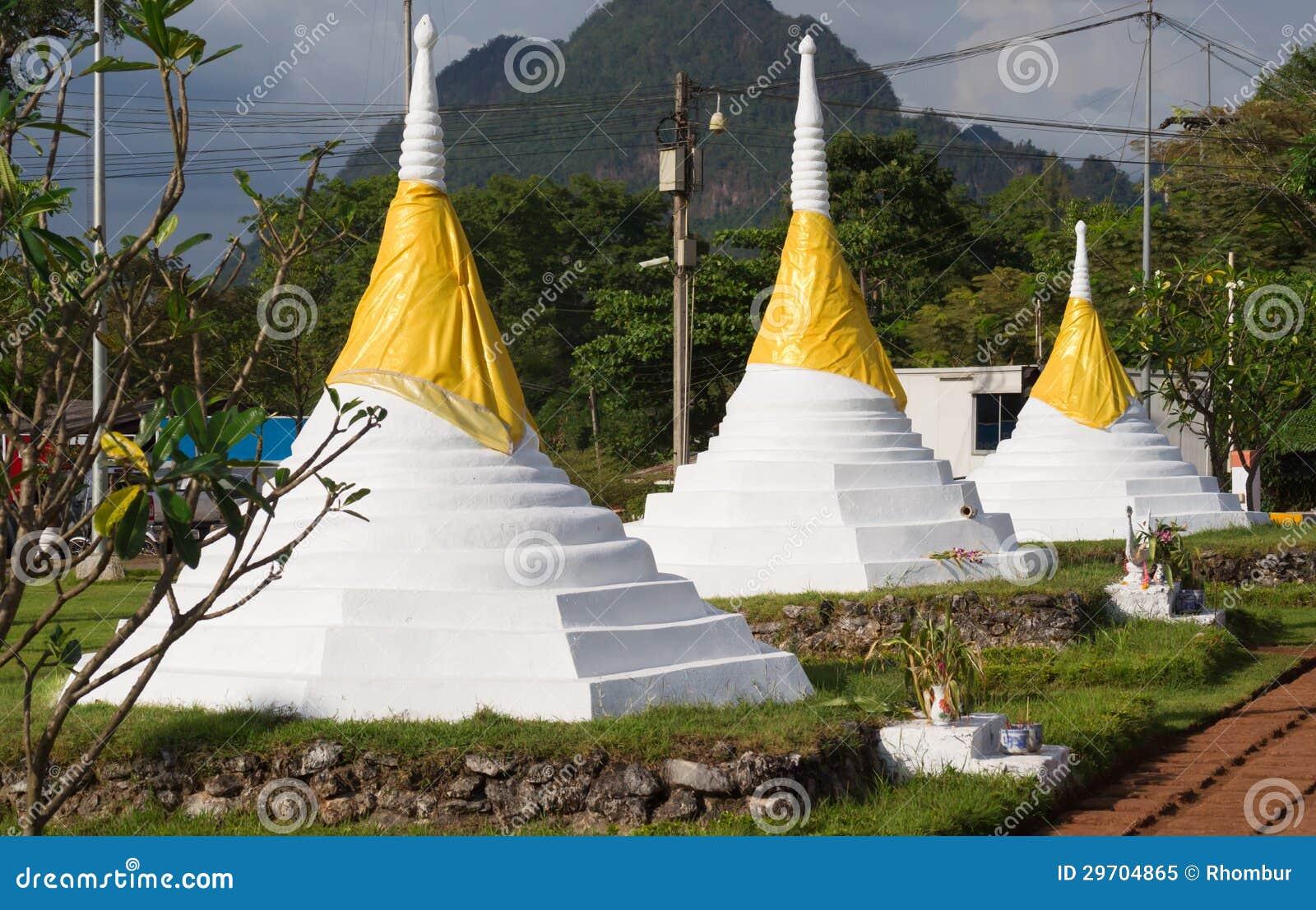 The Three Pagodas Pass Royalty Free Stock Photo - Image ...