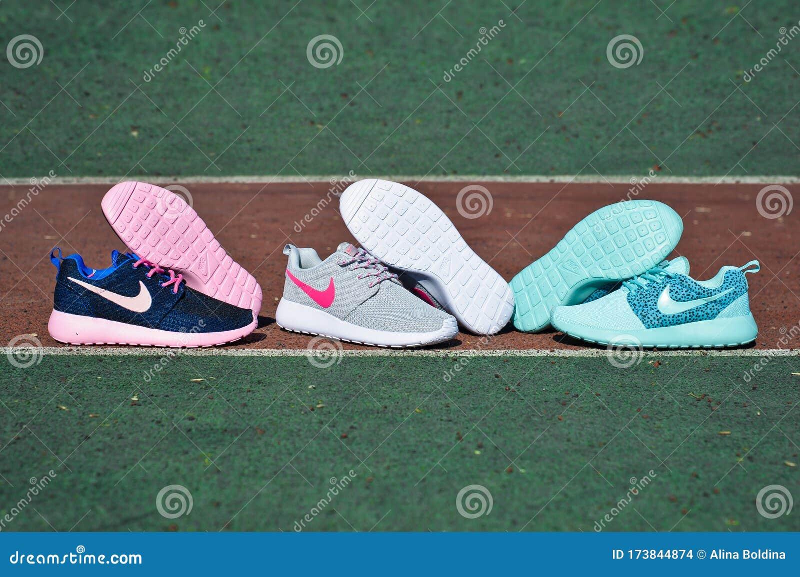 Nike Roshe Run Sneakers, Running Shoes