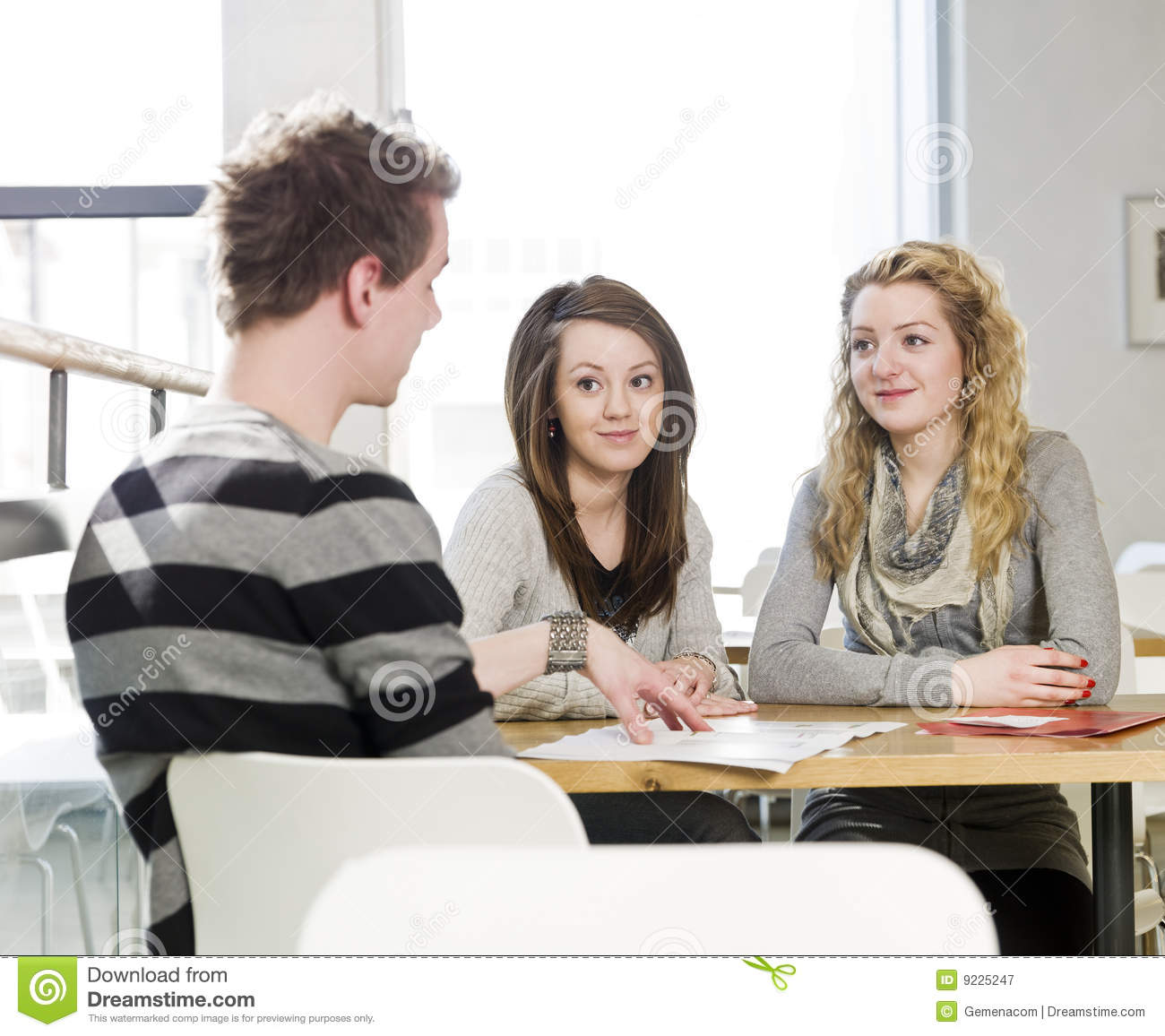 three communicate talking royalty preview working dreamstime