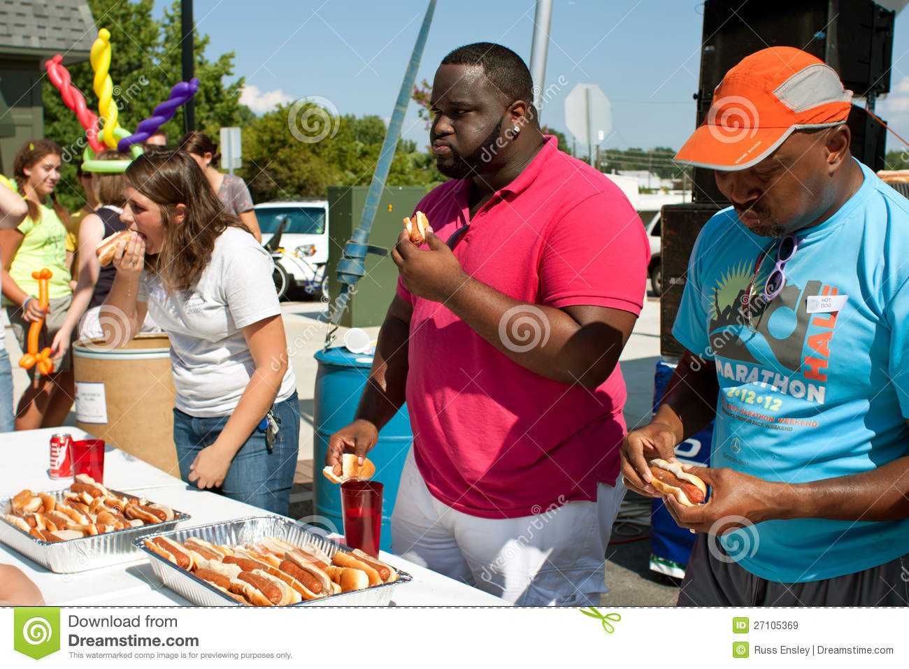 What Time Is The Hot Dog Eating Contest