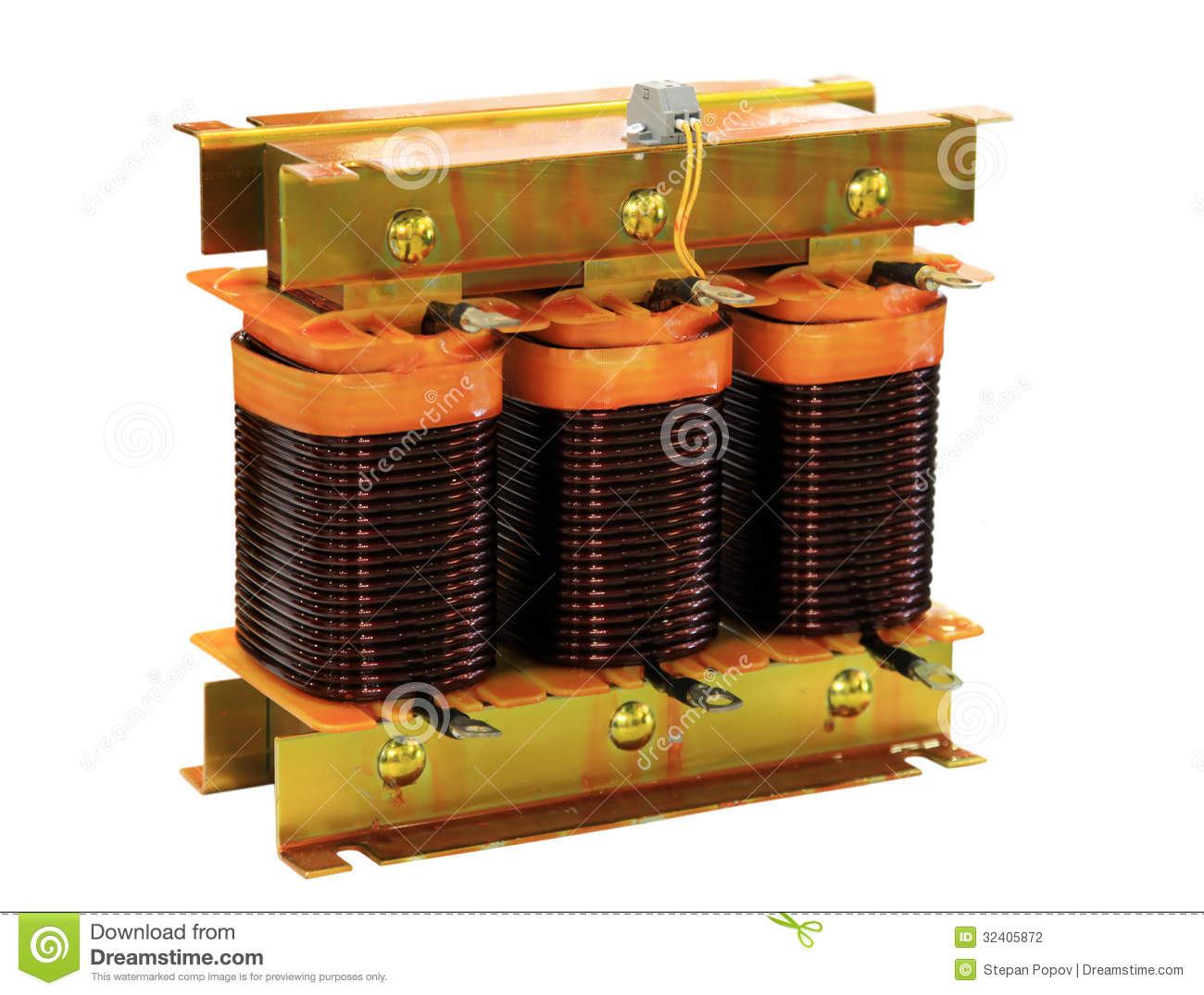 Three Phase Transformer Stock Photography Image 32405872