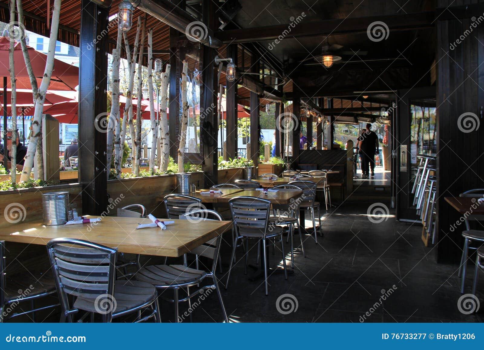 Three Season Porch Seating At Cornerstone Artisanal Pizza And Craft