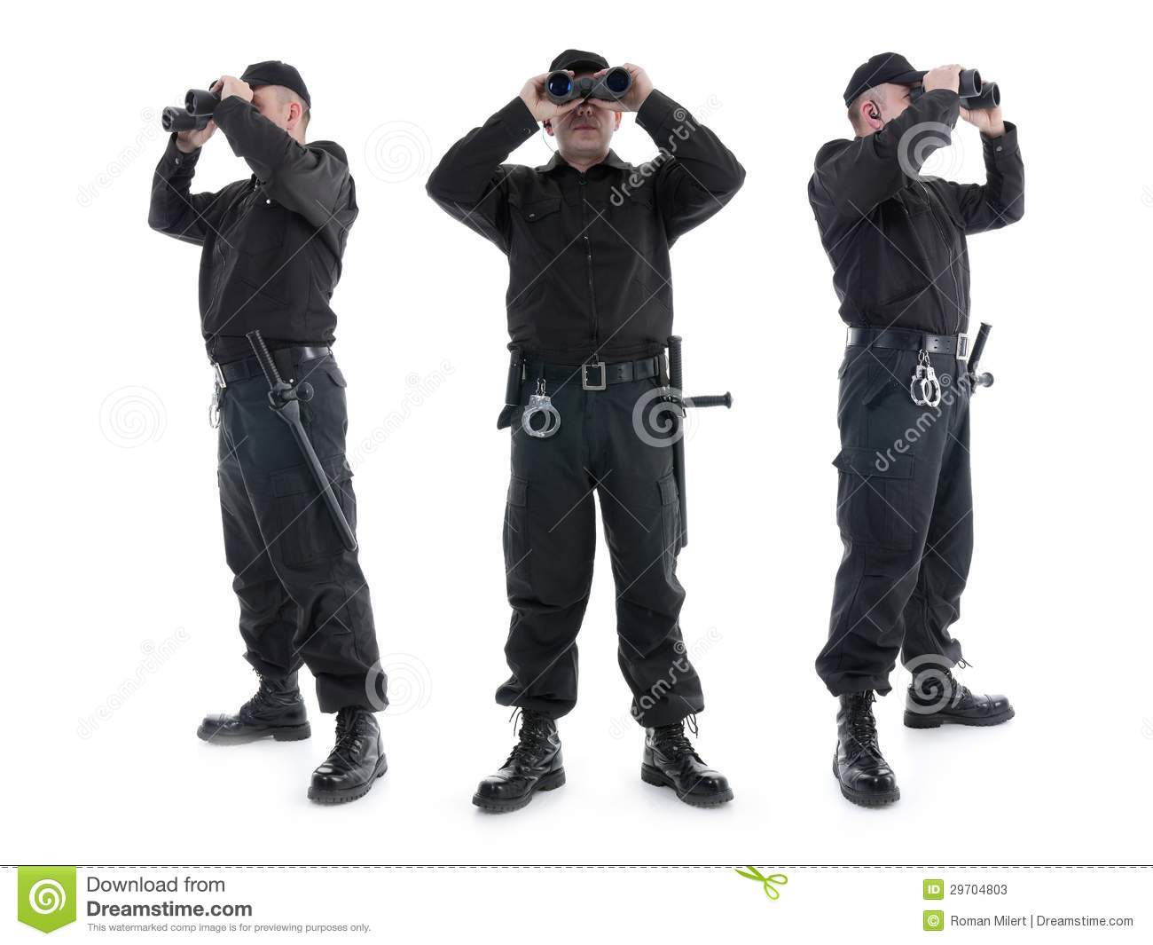 Security Guards Stock Image Image Of Protection
