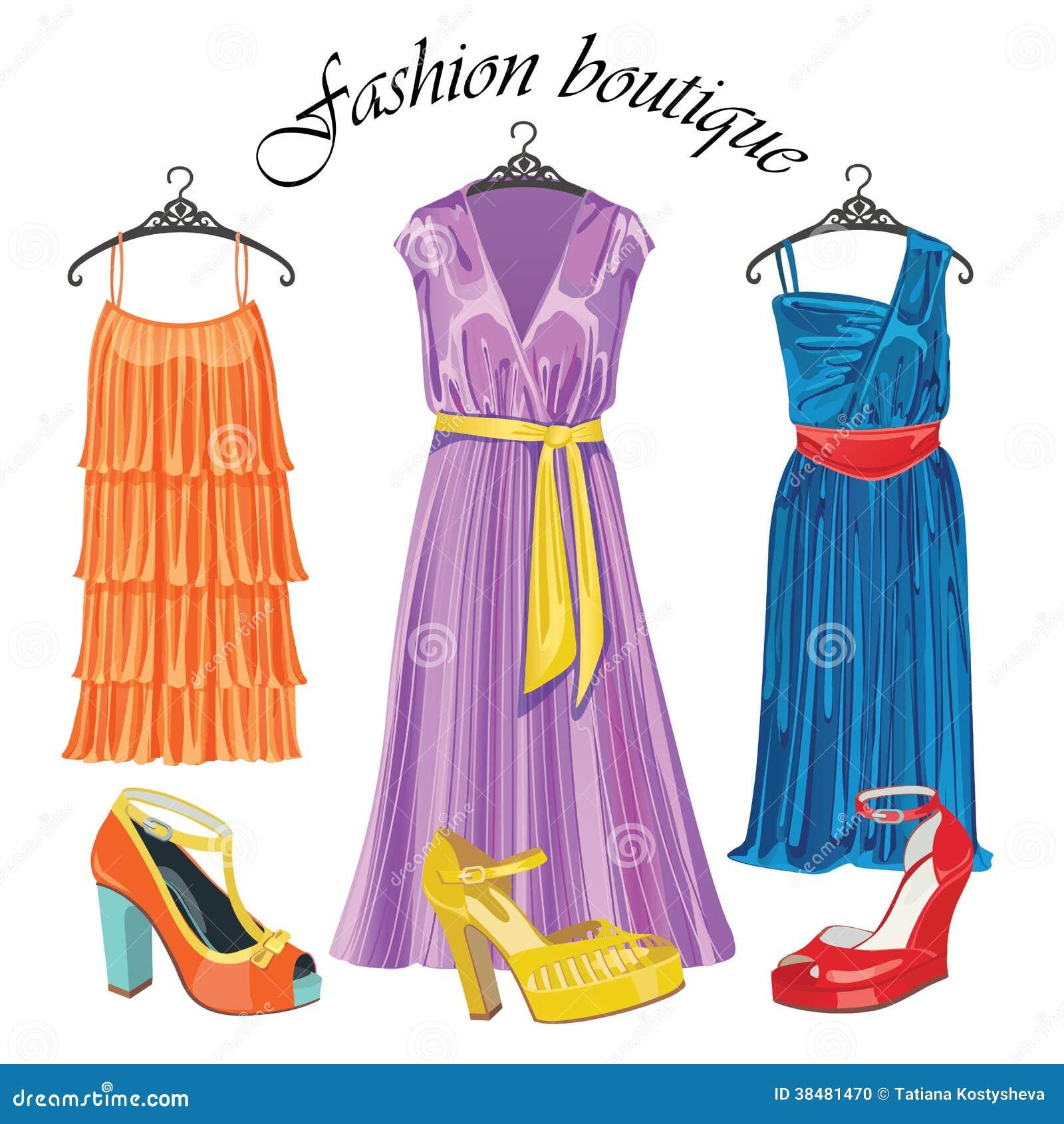 Fashion Boutique Clipart